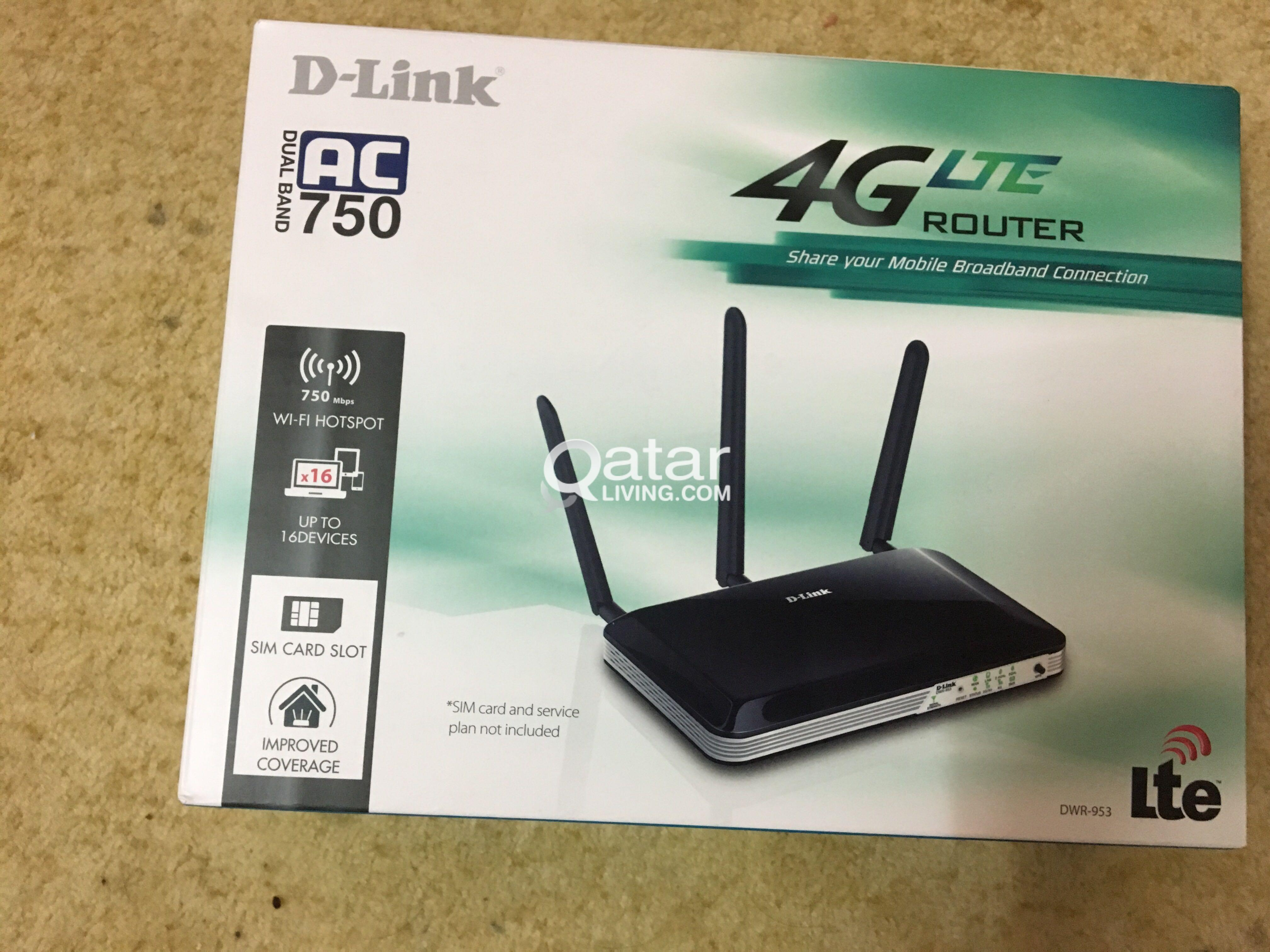 D-Link 4G Router for sale | Qatar Living