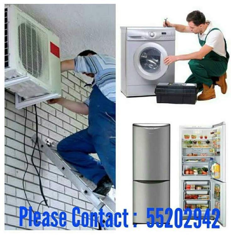 A/C, FRIDGE AND WASHING MACHINE REPAIR 55202942