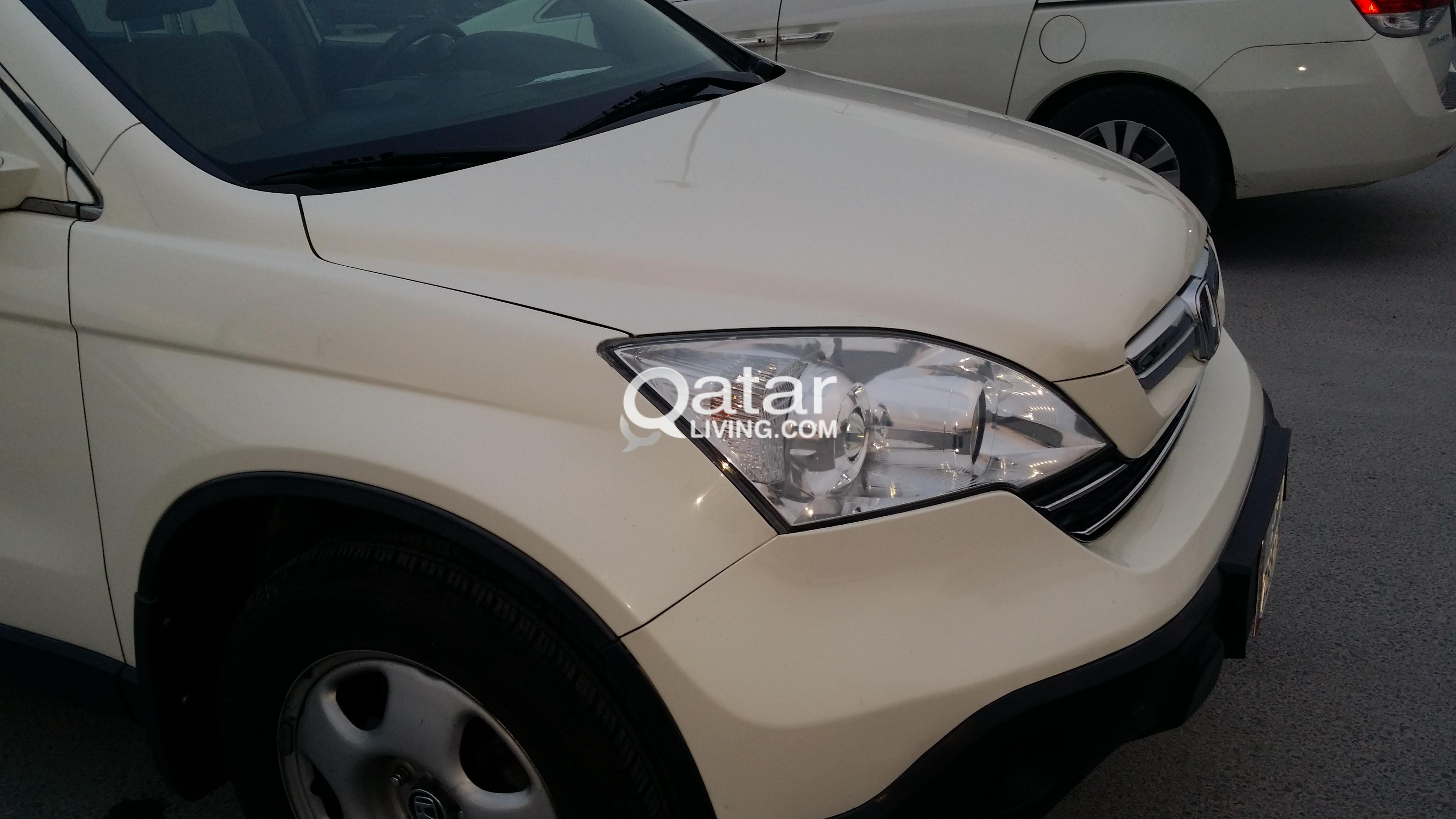 Honda Crv Pearl White Excellent Family Used Urgent Sale Qatar Living
