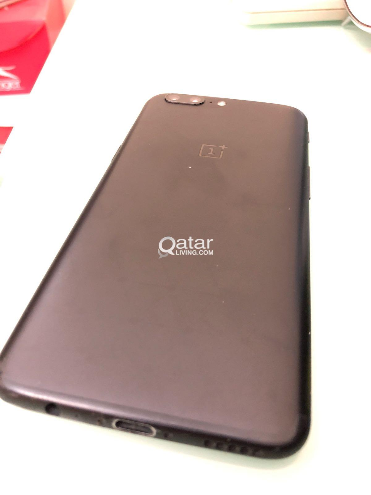 Oneplus 5 128gb Android 8 Boxed With Cover Qatar Living Oneplus5
