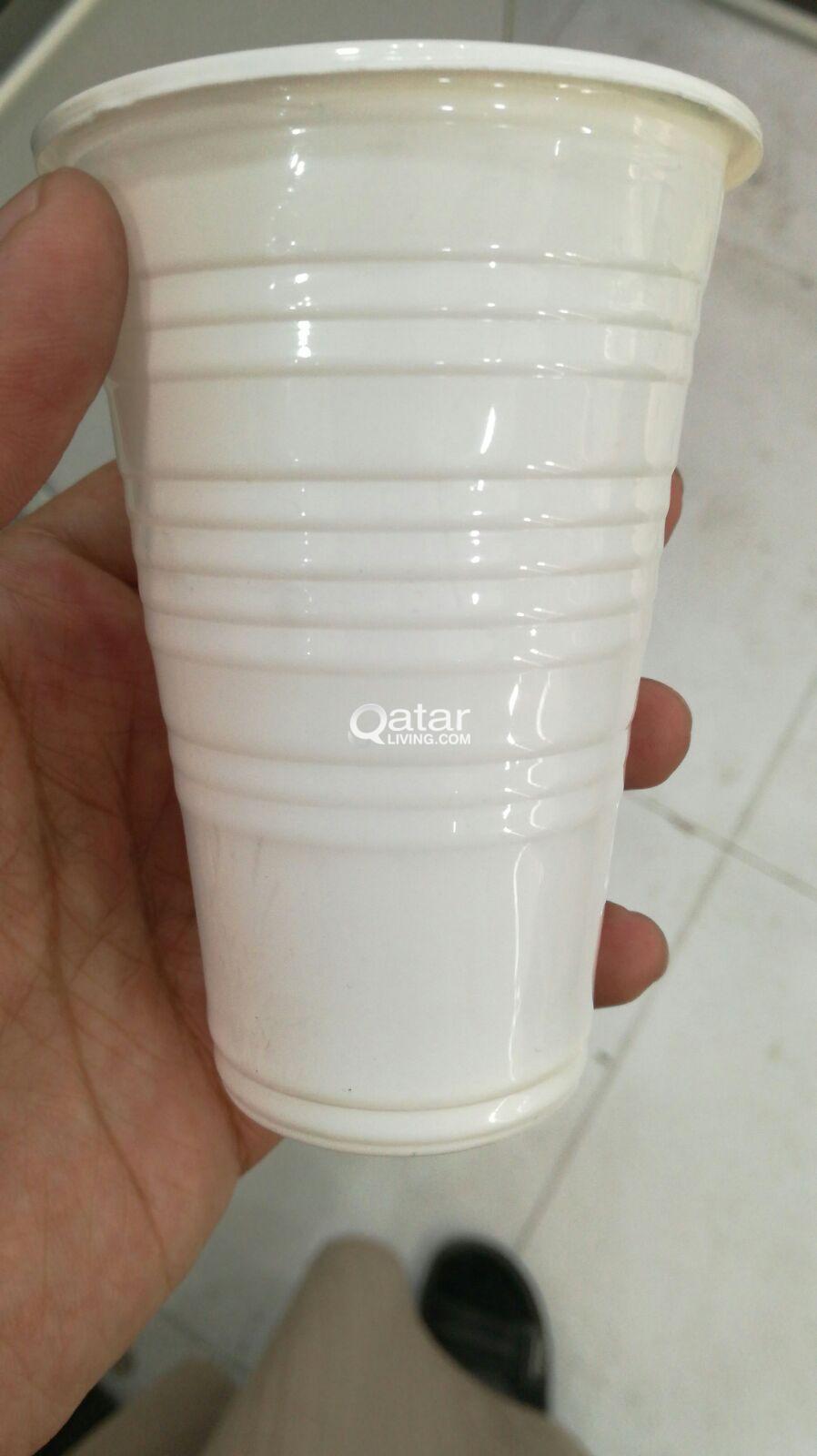 80% OFF SALE!! Plastic cups, Folk,Paper bag, cupholder