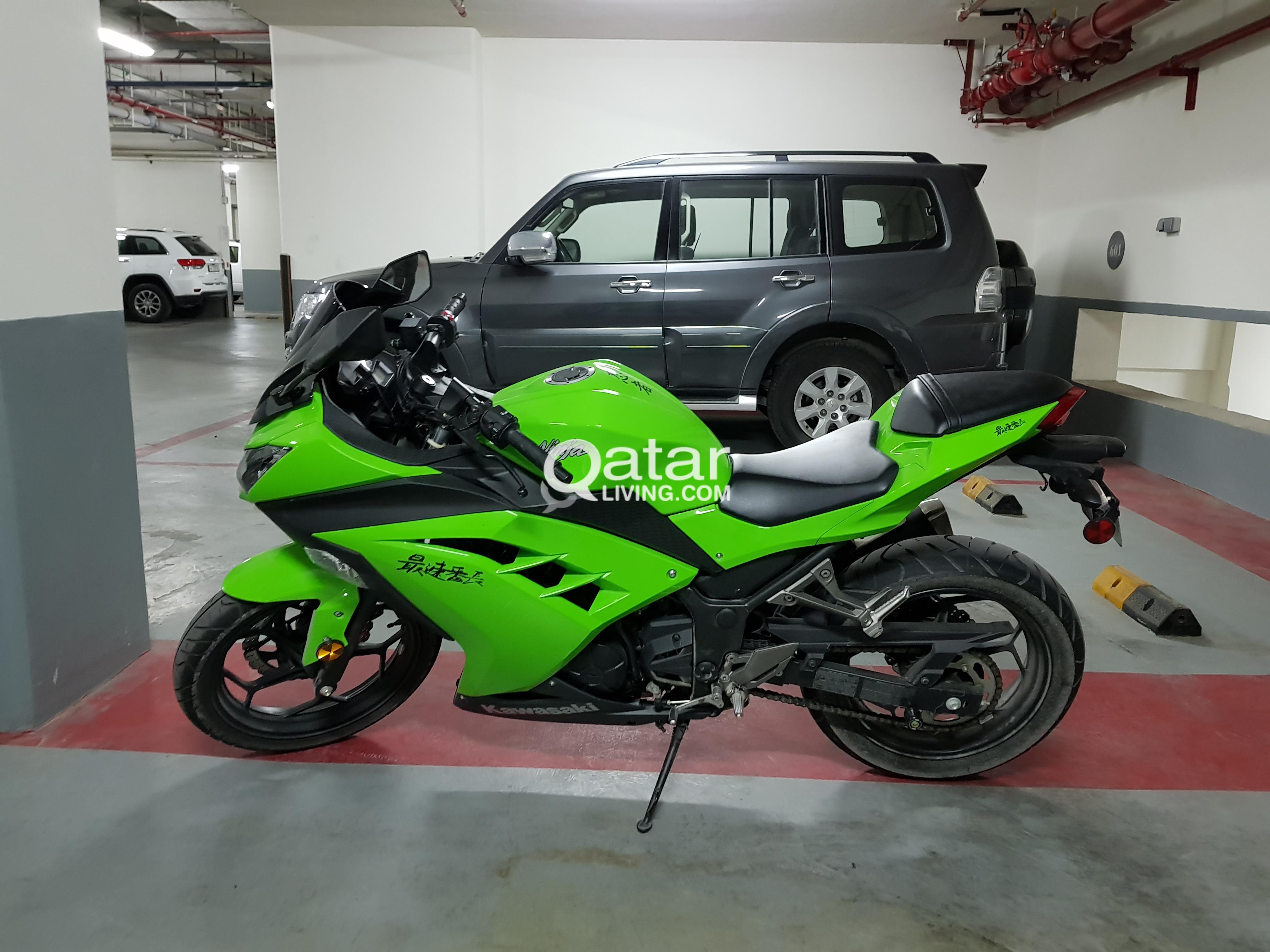 Kawasaki Ninja 300 4 Digit Plate Qatar Living Green Title Information