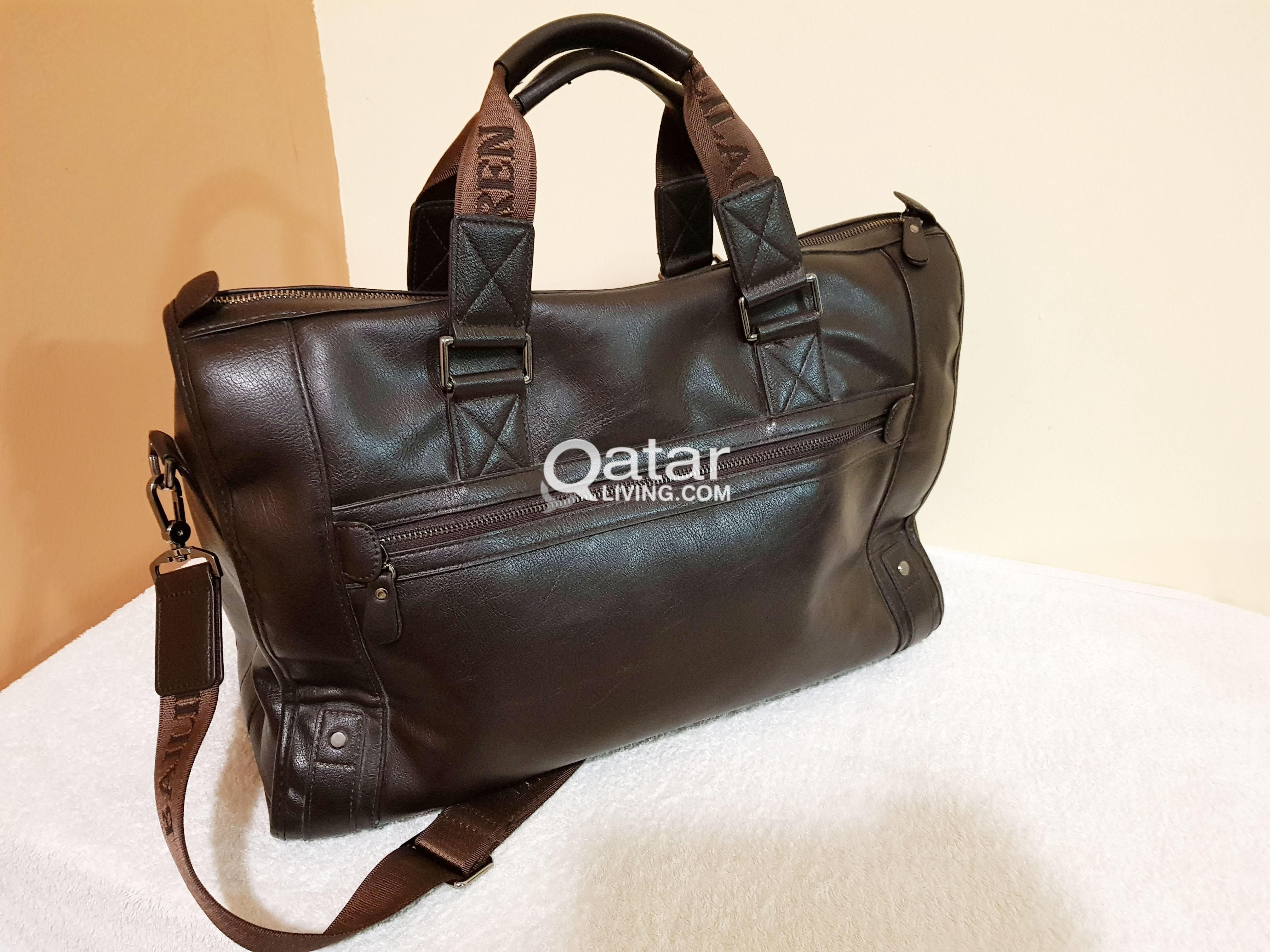 Leather Laptop Bag - 15