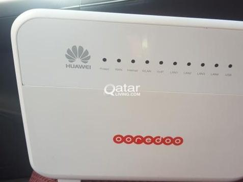 Im looking for ooredoo router huawei home gateway | Qatar Living
