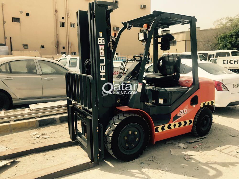 3 and 5 Ton Forklift for Rent | Qatar Living