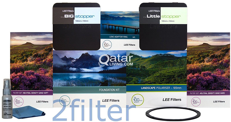 Lee Filters / Canon Lens & Flash | Qatar Living