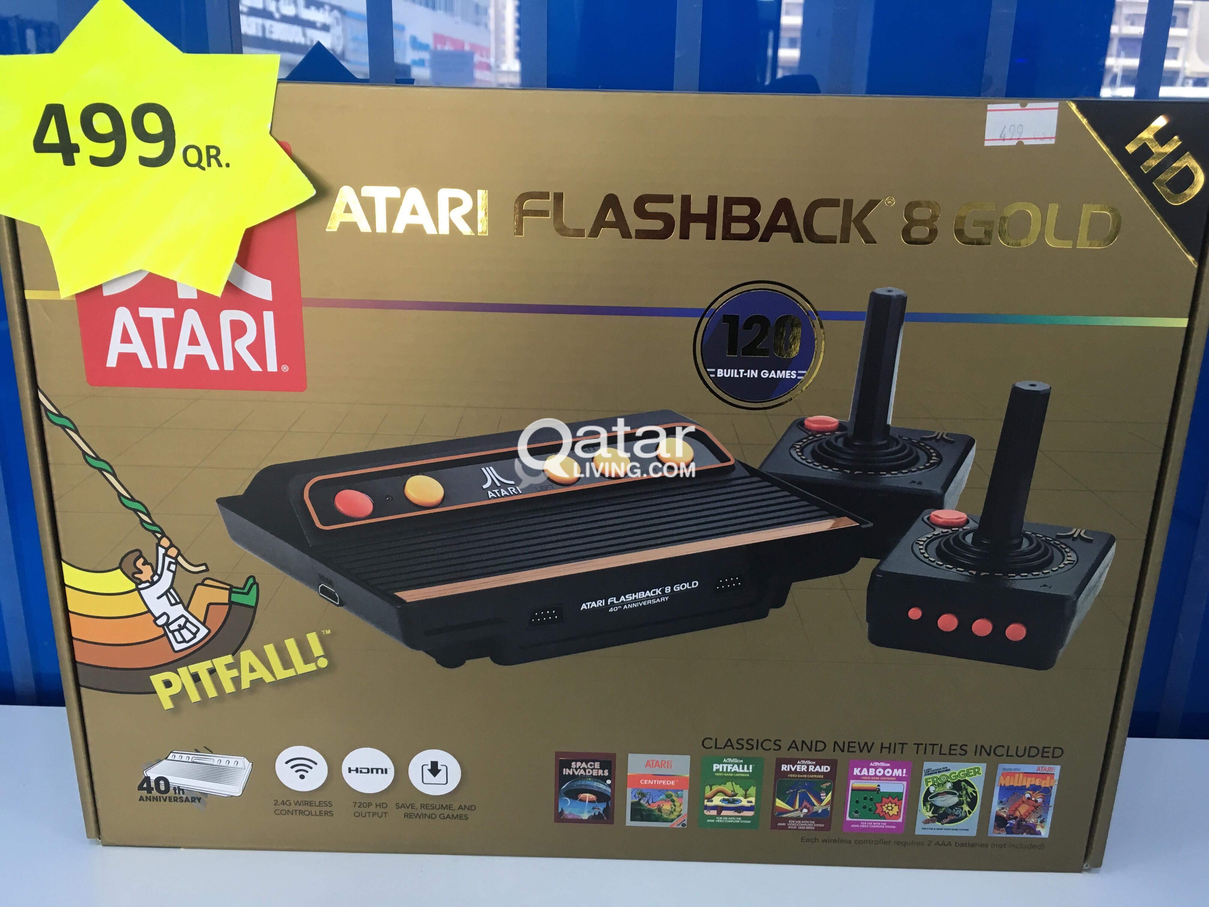 Atari Flashback8 Gold Qatar Living