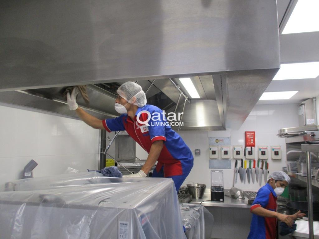 Kitchen Duct Cleaning Qatar