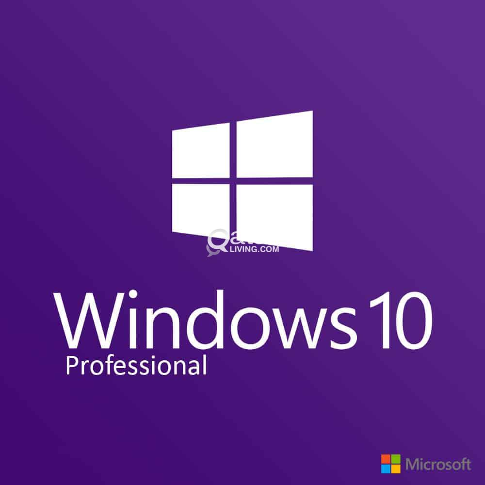 Windows 10 Pro 32/64 Bit Lifetime With Free Antivirus   Qatar Living
