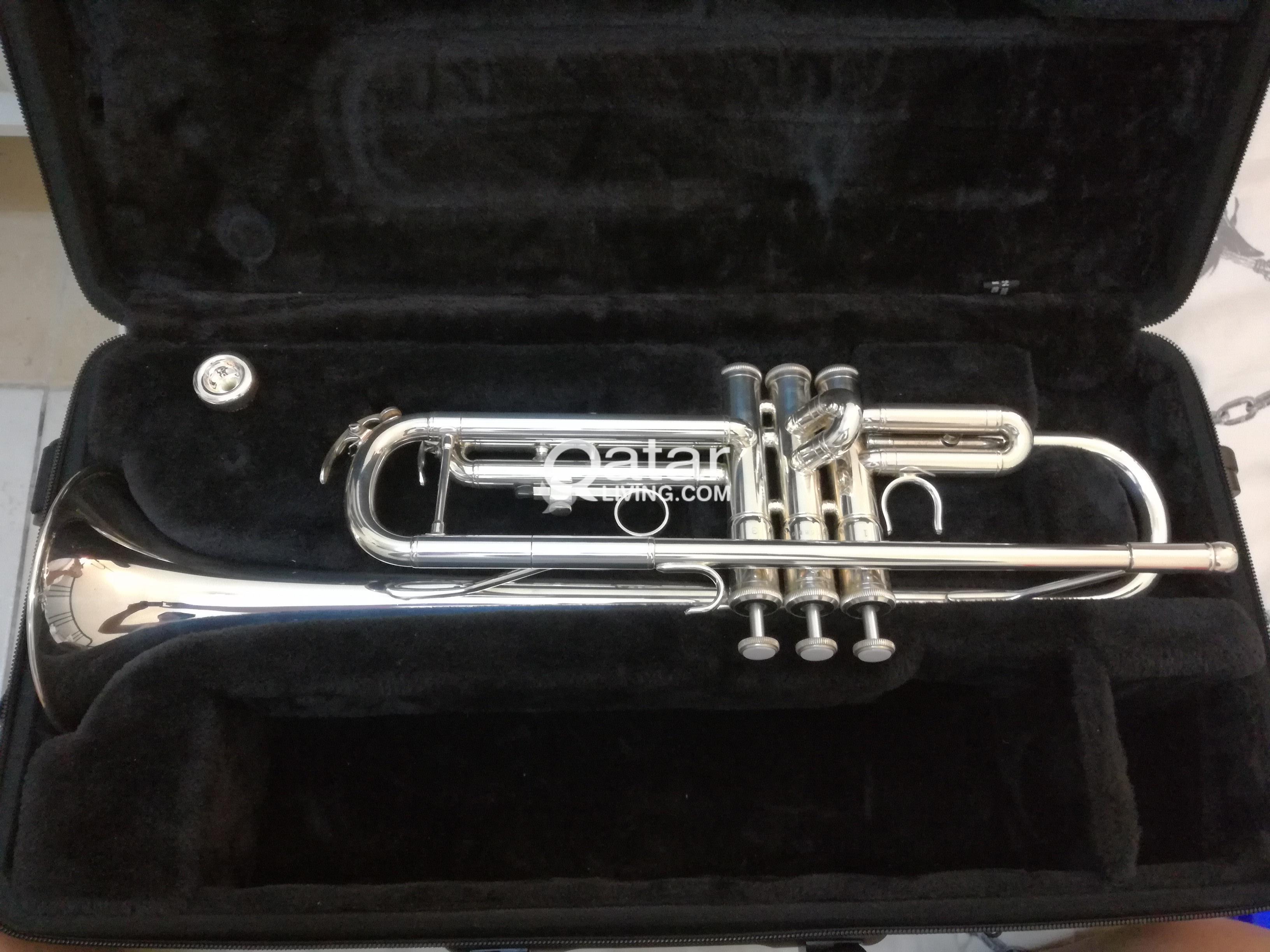 Yamaha Trumpet Silver YTR-3335 | Qatar Living