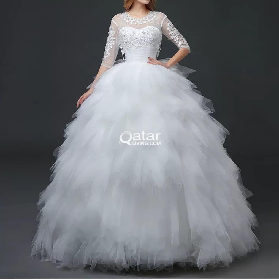 Brand New Wedding dress for sale | Qatar Living
