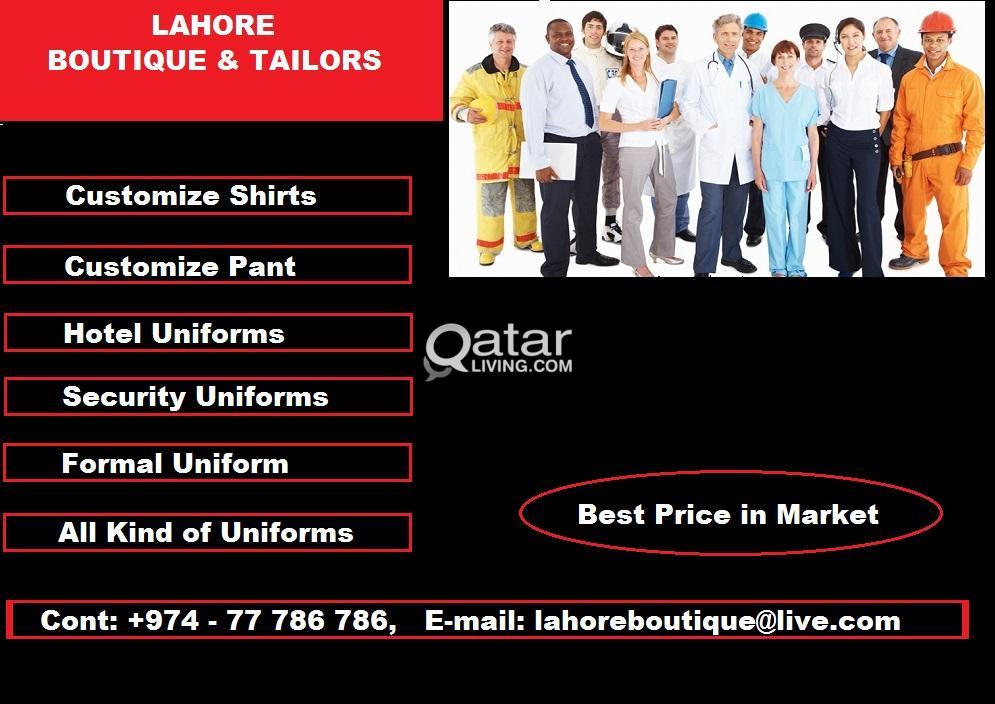 Uniforms Tailoring Facility