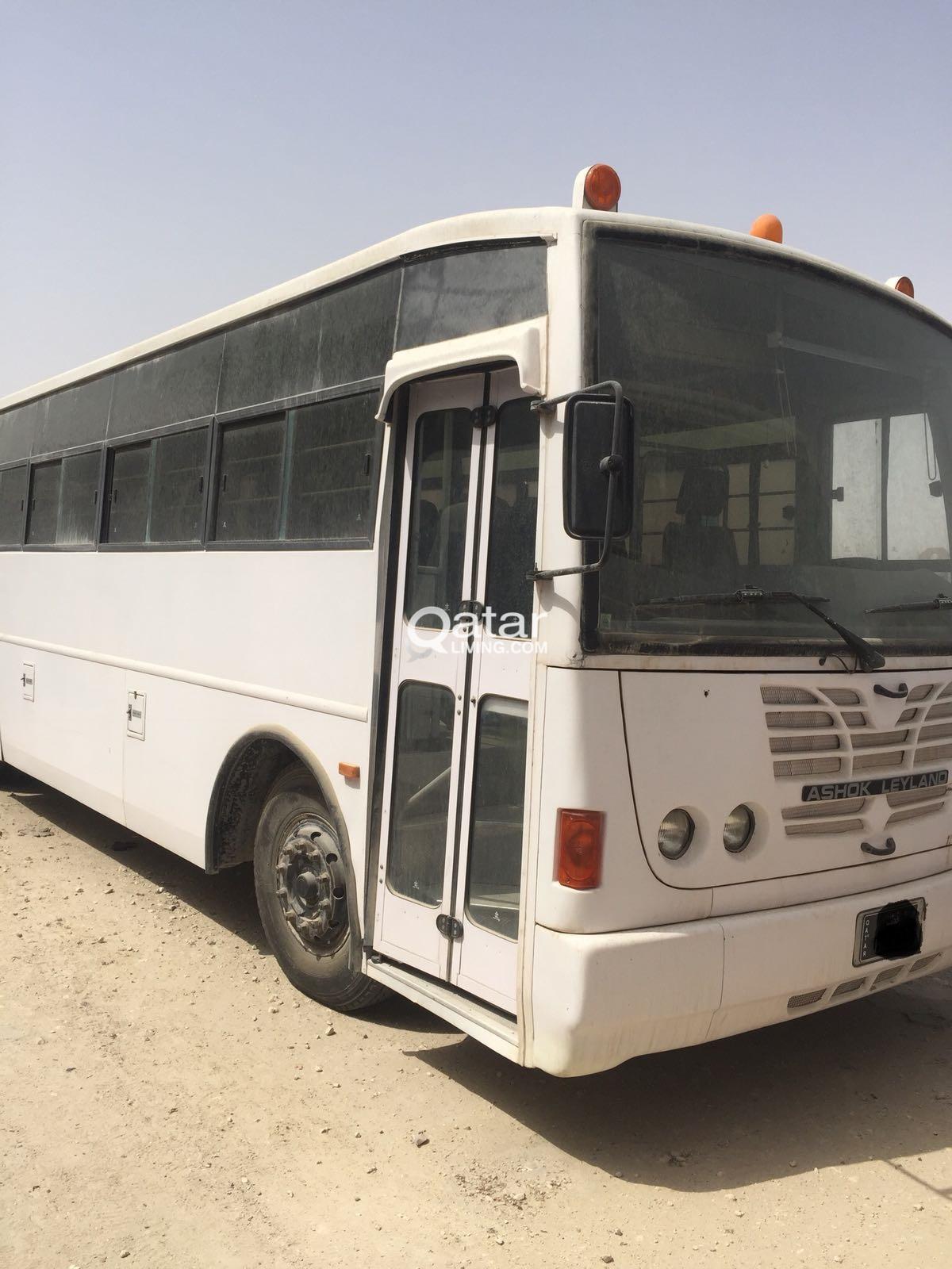 66+1 Seater Ashok Leyland Bus for Sale   Qatar Living