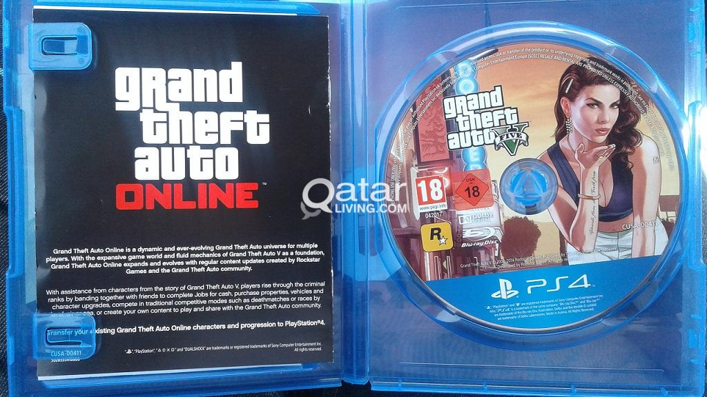GTA 5 PS4 for Sale | Qatar Living