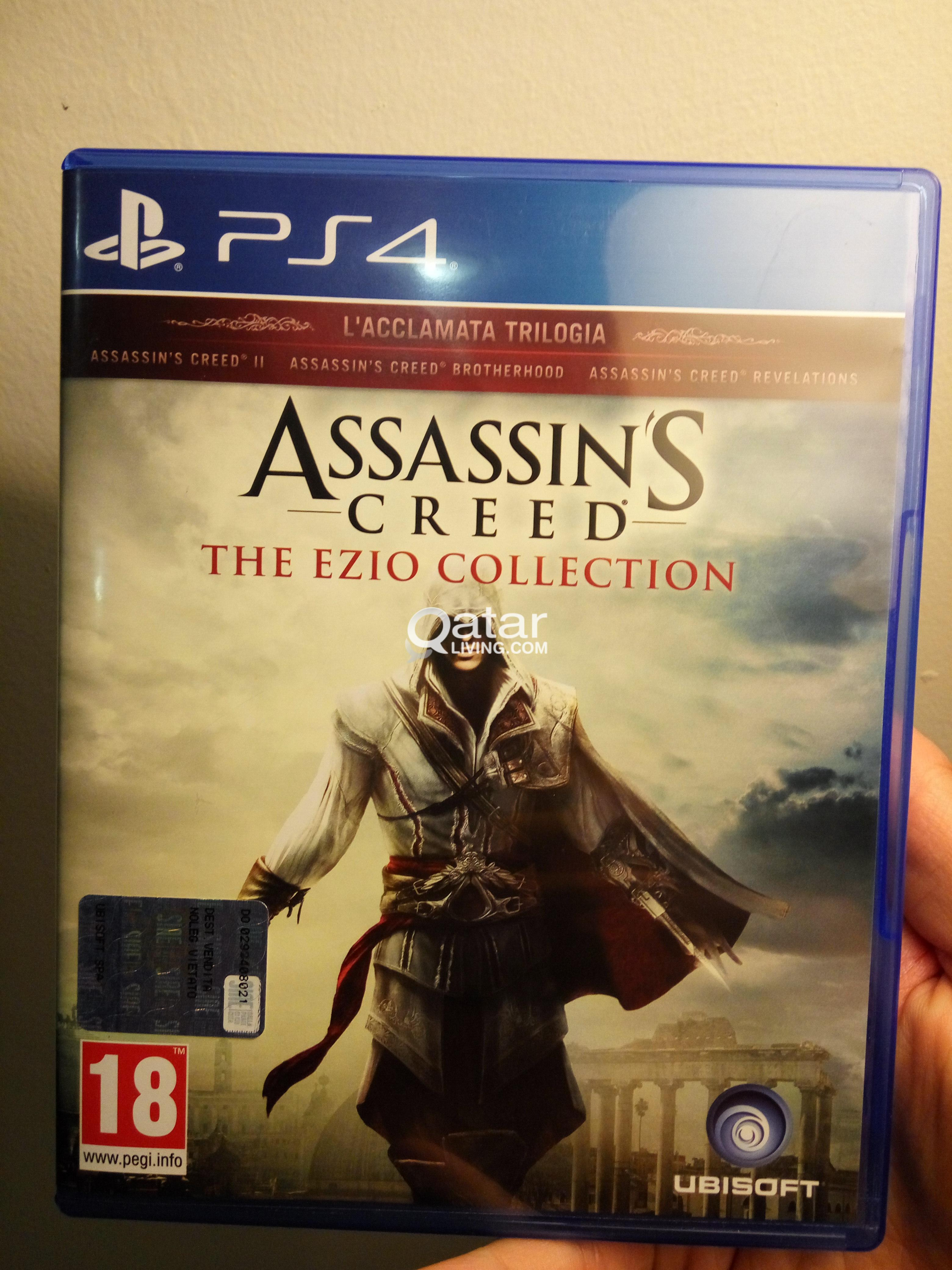 Assassin S Creed Ezio Collection Ps4 Qatar Living