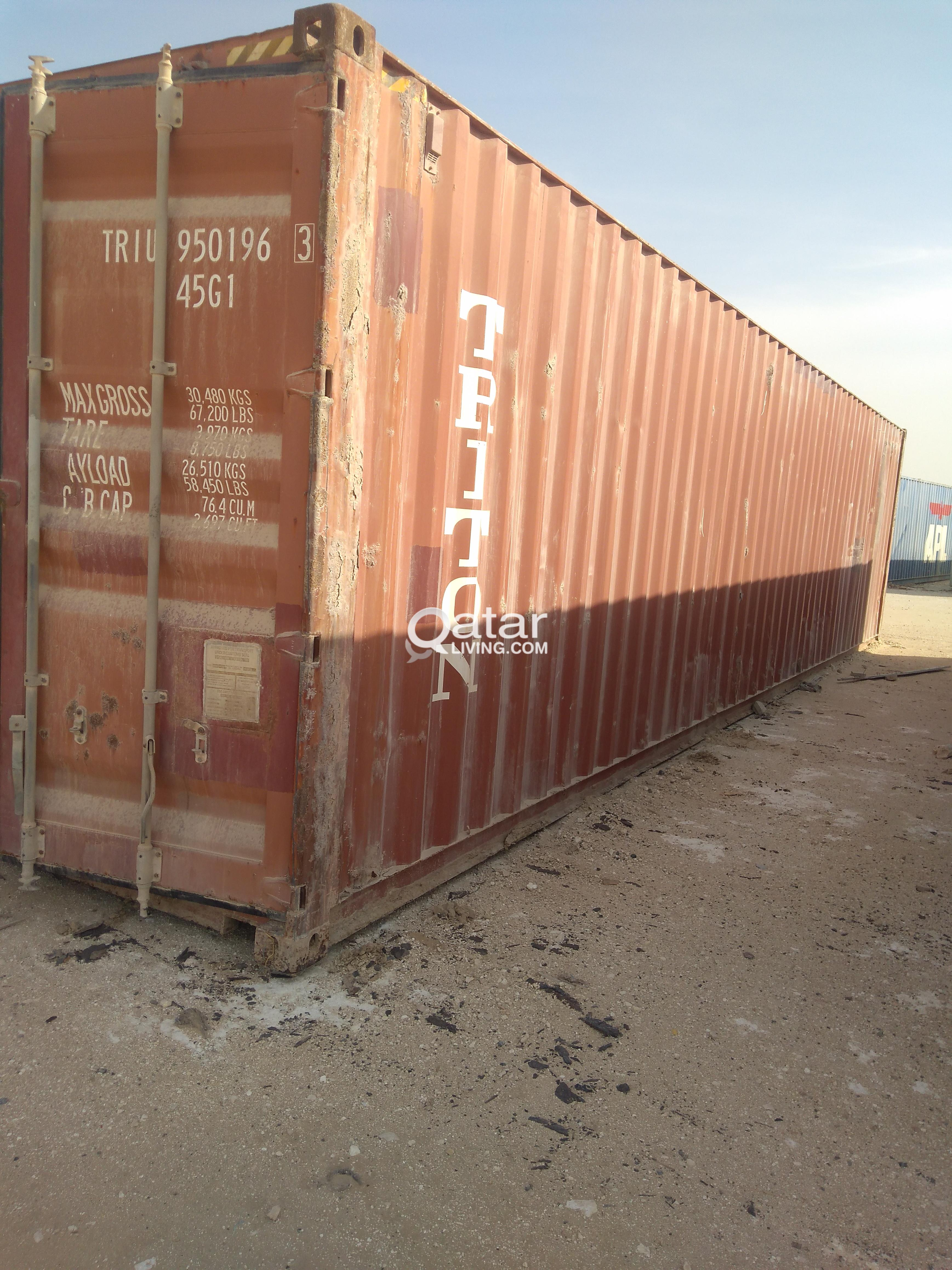 40 Fee&20 feet used container for sale.