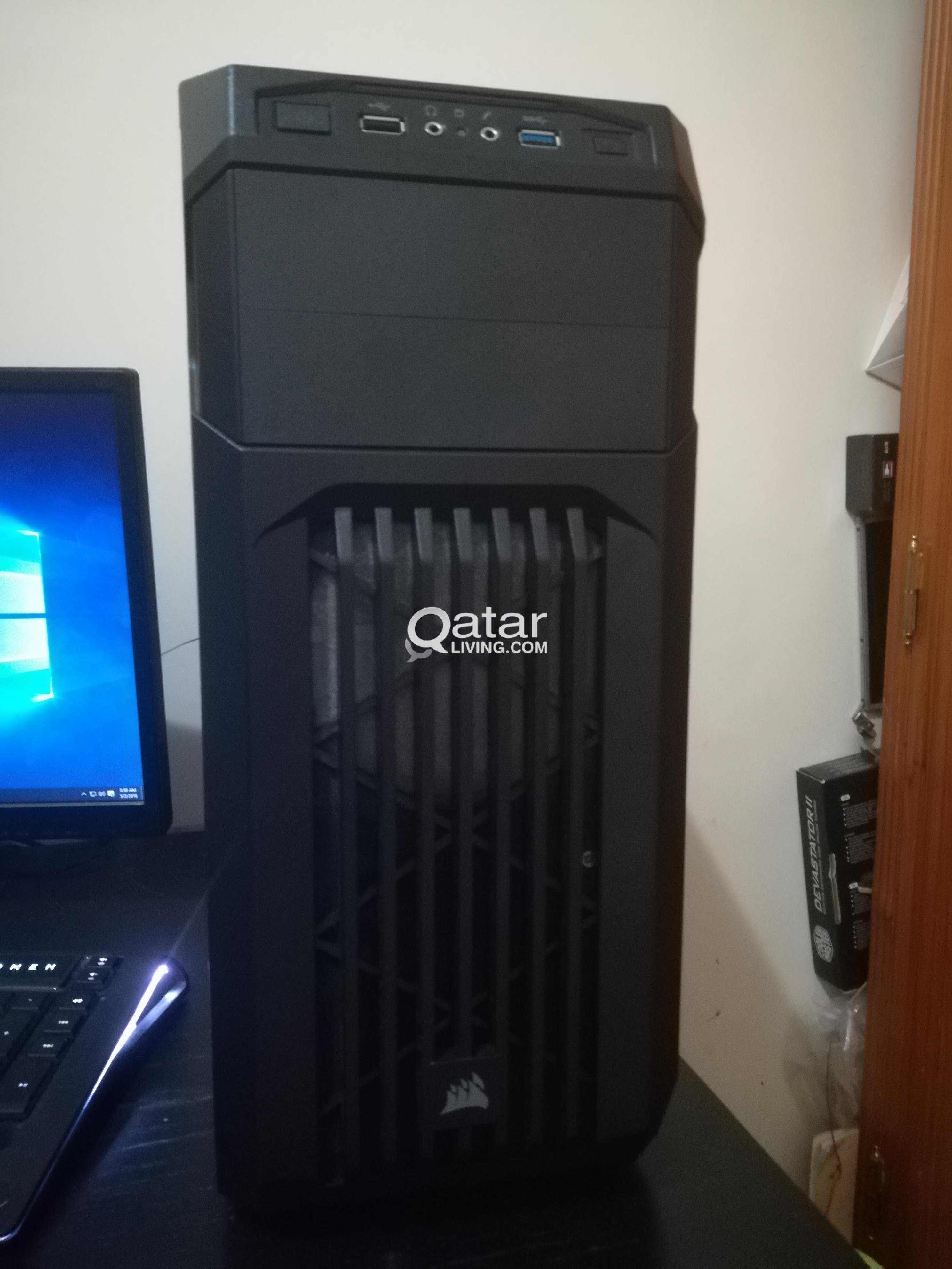 Silent Gaming Setup for sale 6 CORES 14GB RAM