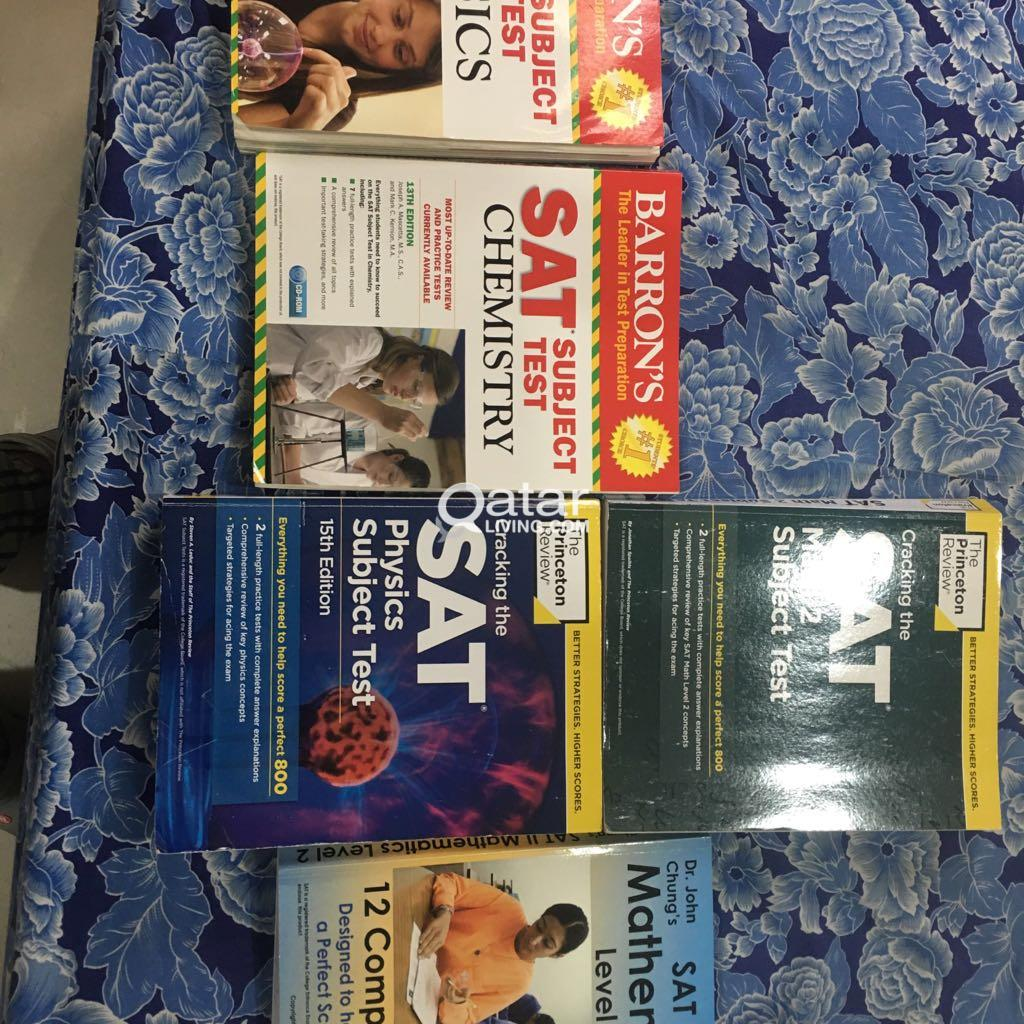 SAT 2 subject test books used for sale | Qatar Living