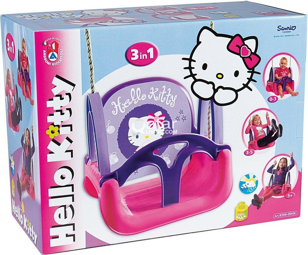 Hello Kitty 3 In 1 Swing Qatar Living