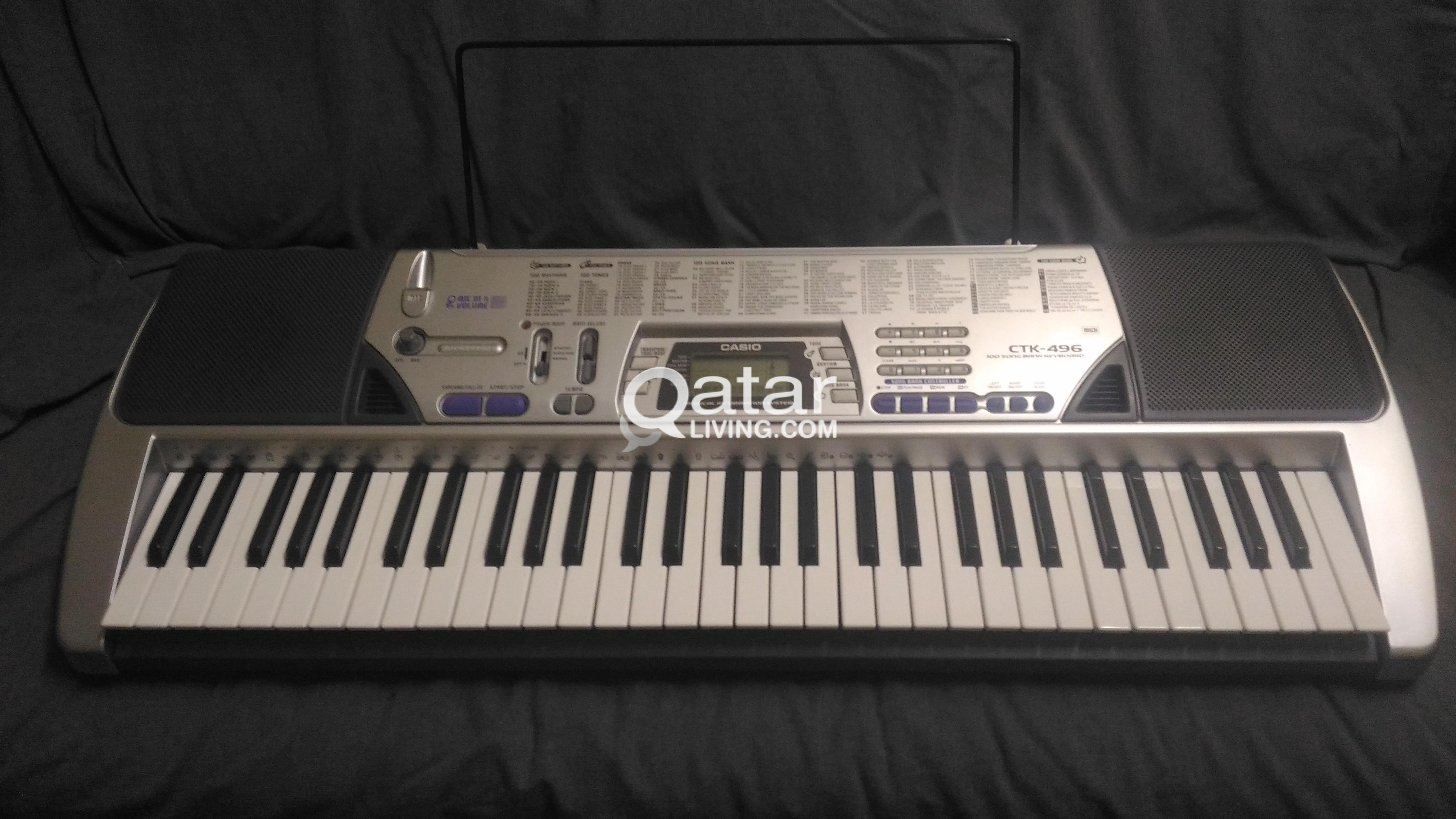 PIANO CASIO ORGAN KEYBOARD | Qatar Living