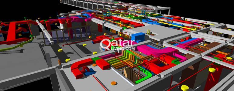 Mechanical HVAC Design & Shop Drawing Services Cad & Revit | Qatar