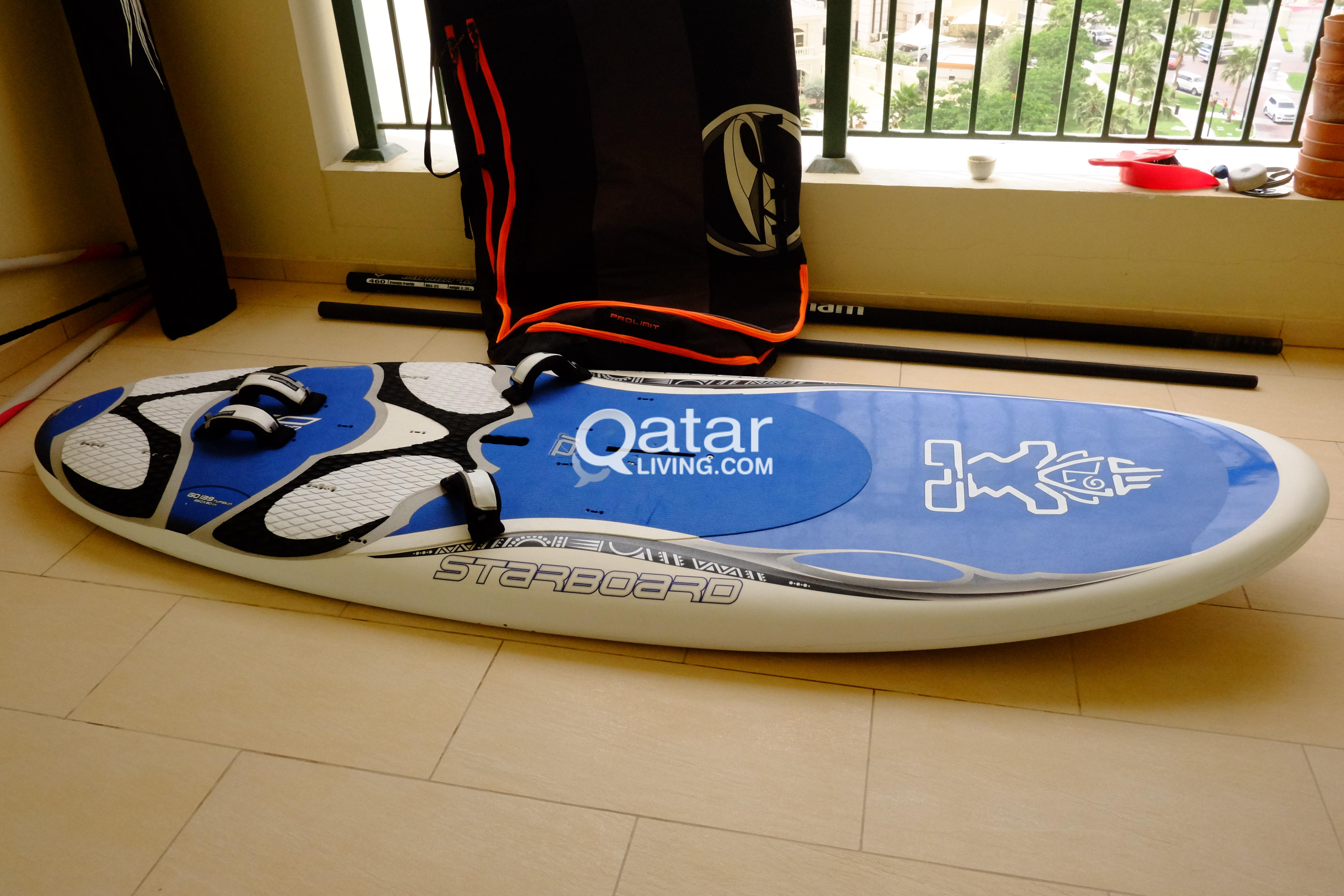 Windsurfing Rig Excellent condition  | Qatar Living