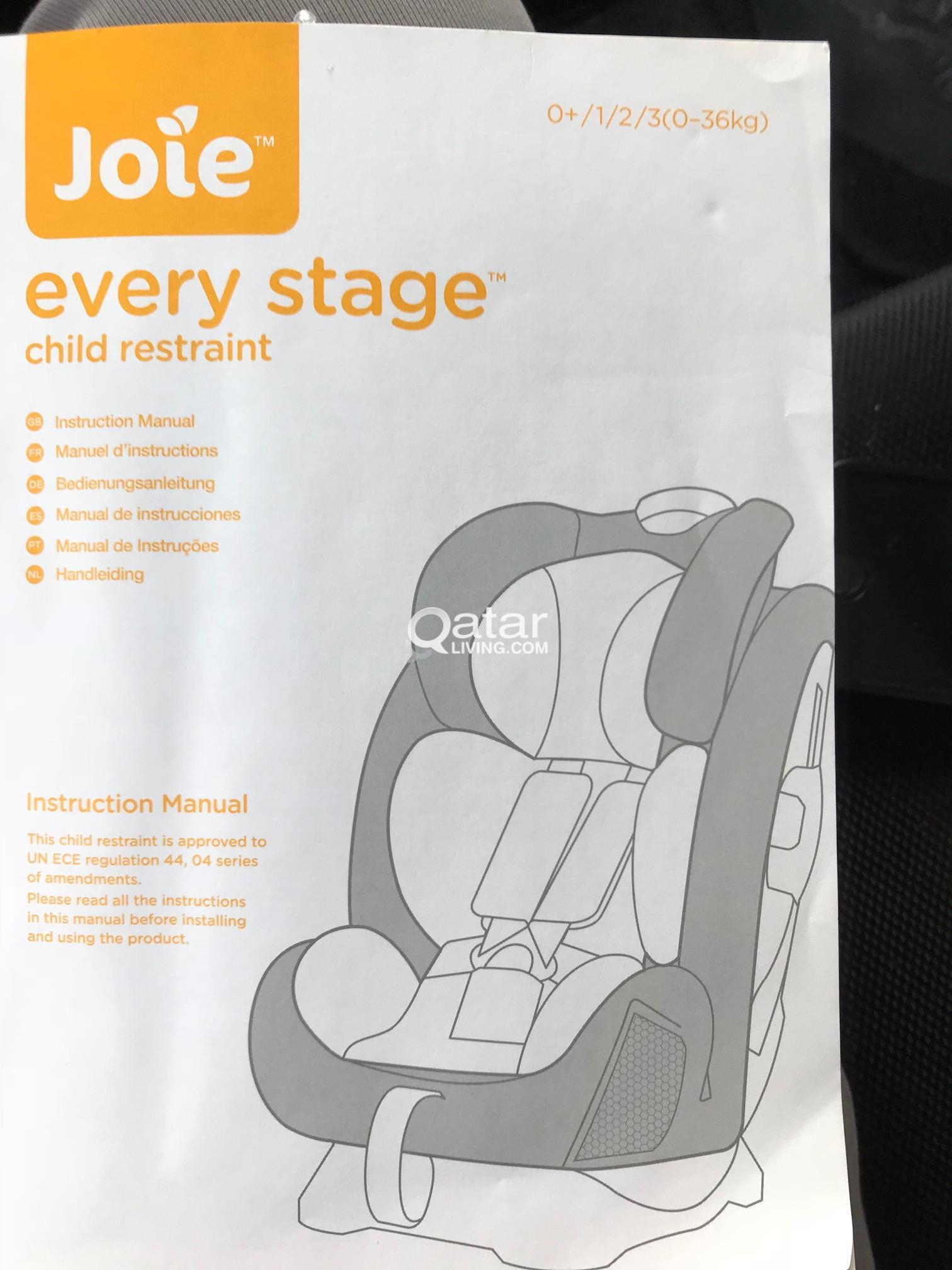 Joie Every Stage Car Seat Qatar Living