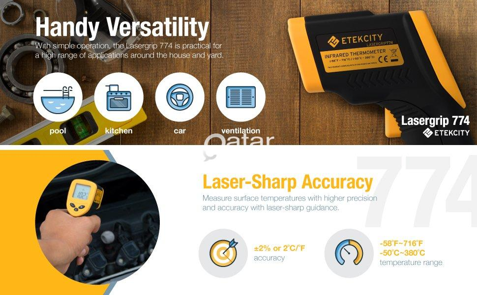 Laser Infrared Thermometer  | Qatar Living