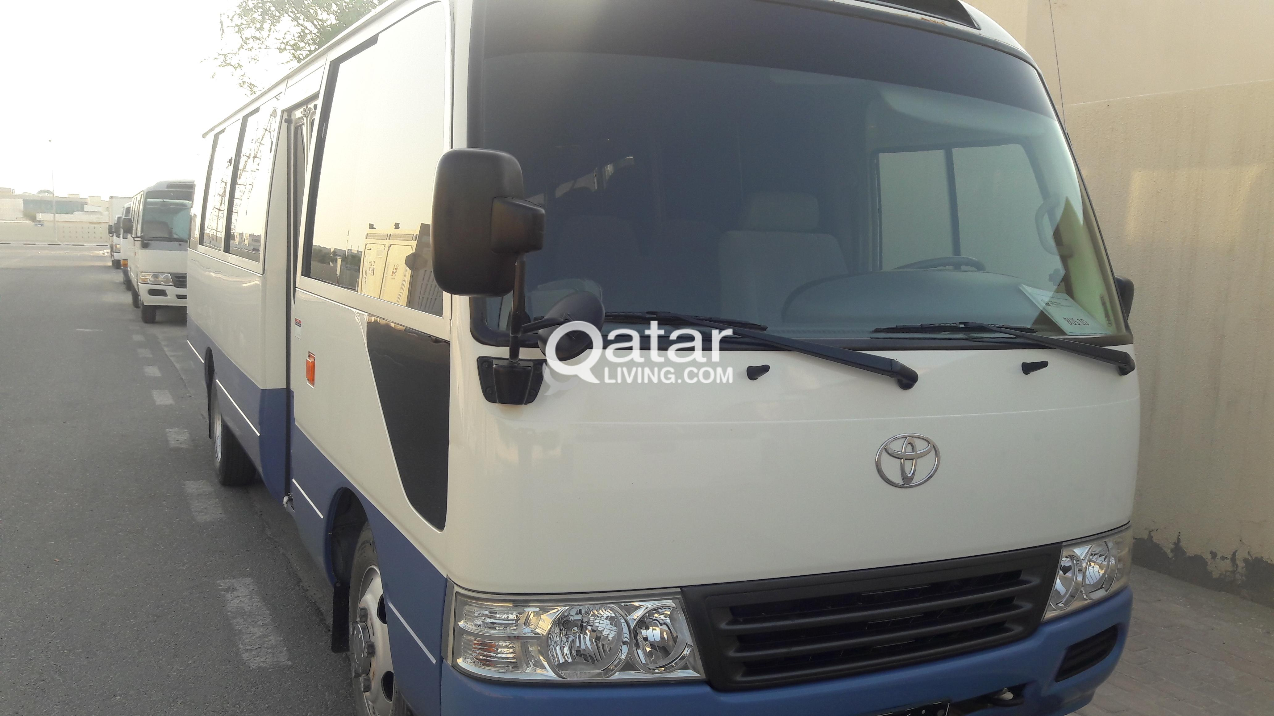 SCHOOL BUS FOR SALE      Coster   30 seater | Qatar Living