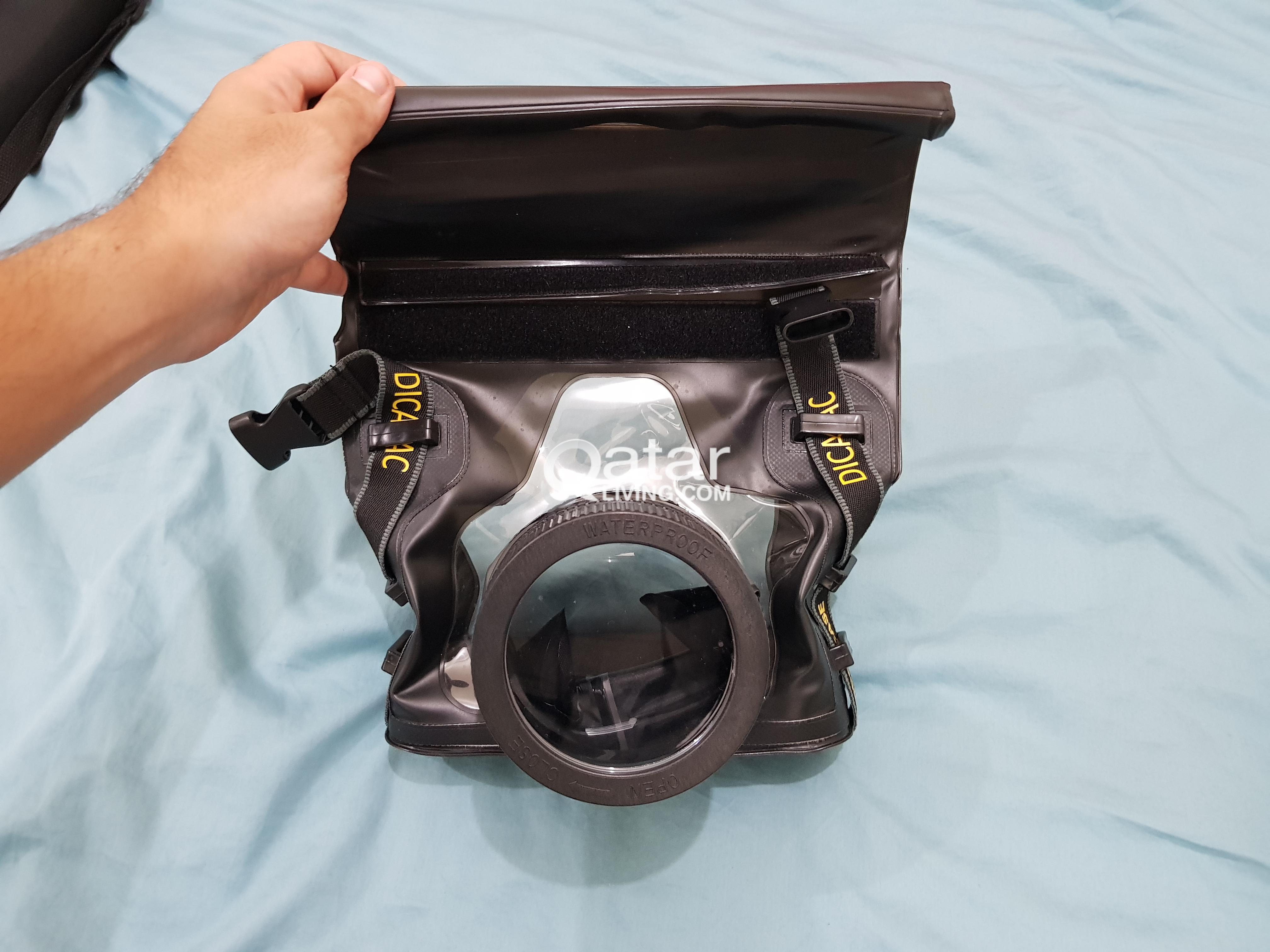 Underwater Case Cover For Dslr Cameras Qatar Living Dicapac Wp S10 Waterproof Slr Title Information New All