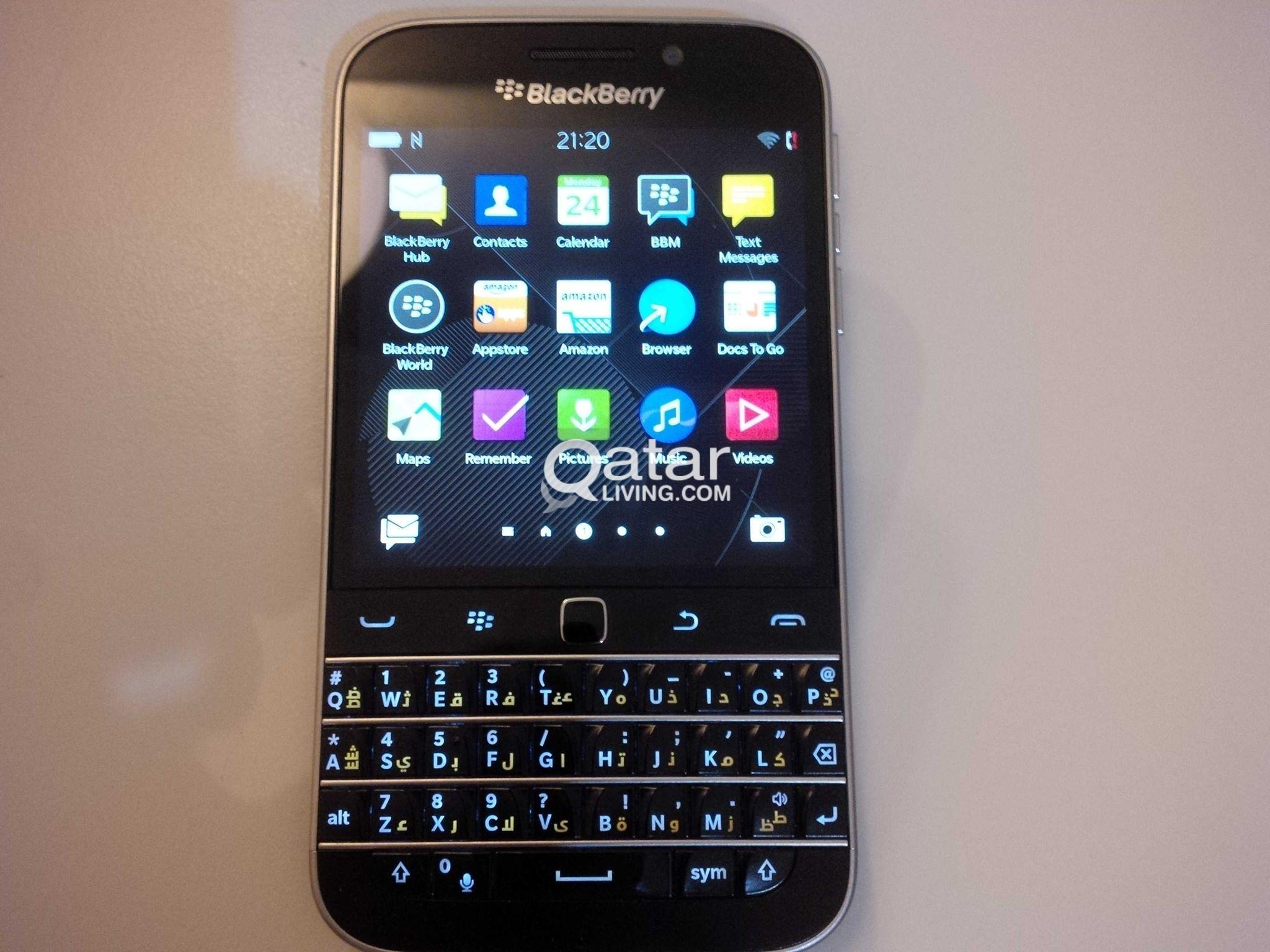 For Sale Blackberry Classic Qatar Living Title Information