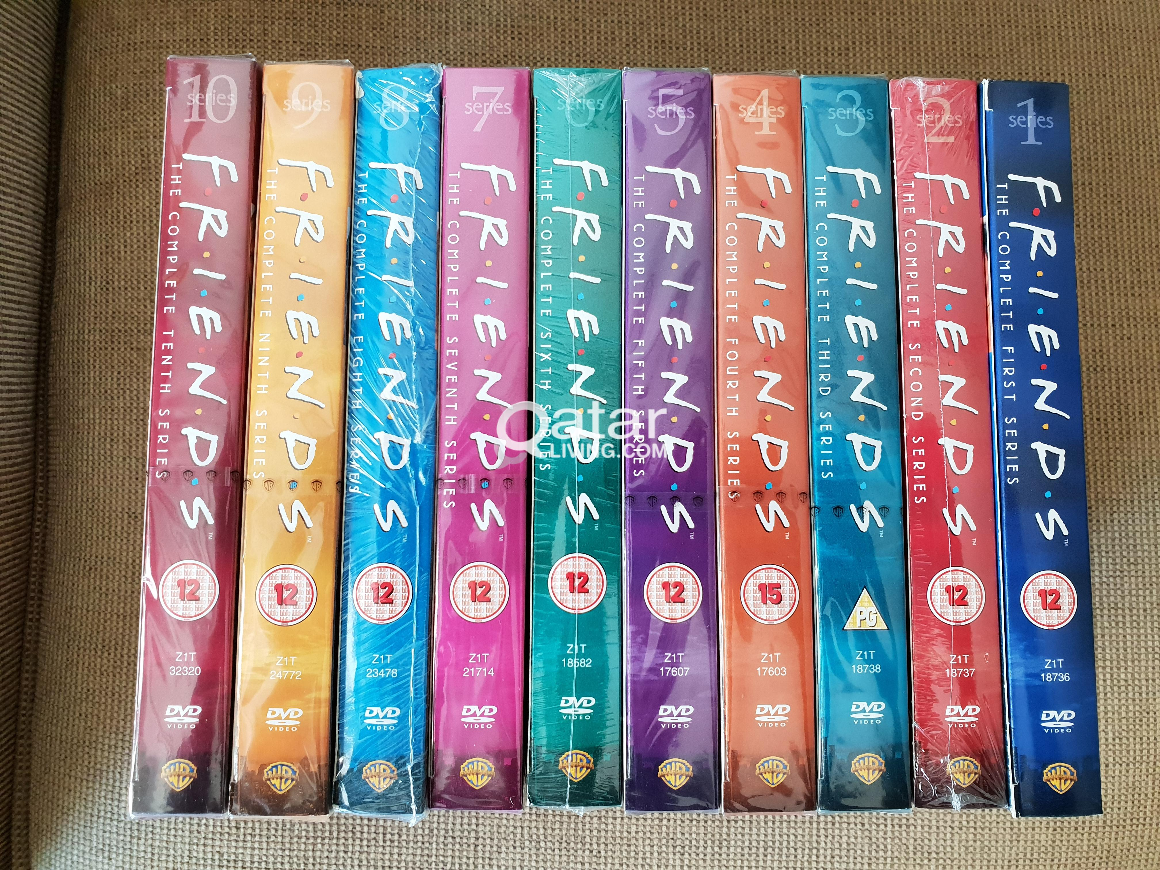 Sony DVD player + All Seasons of Friends TV series | Qatar Living