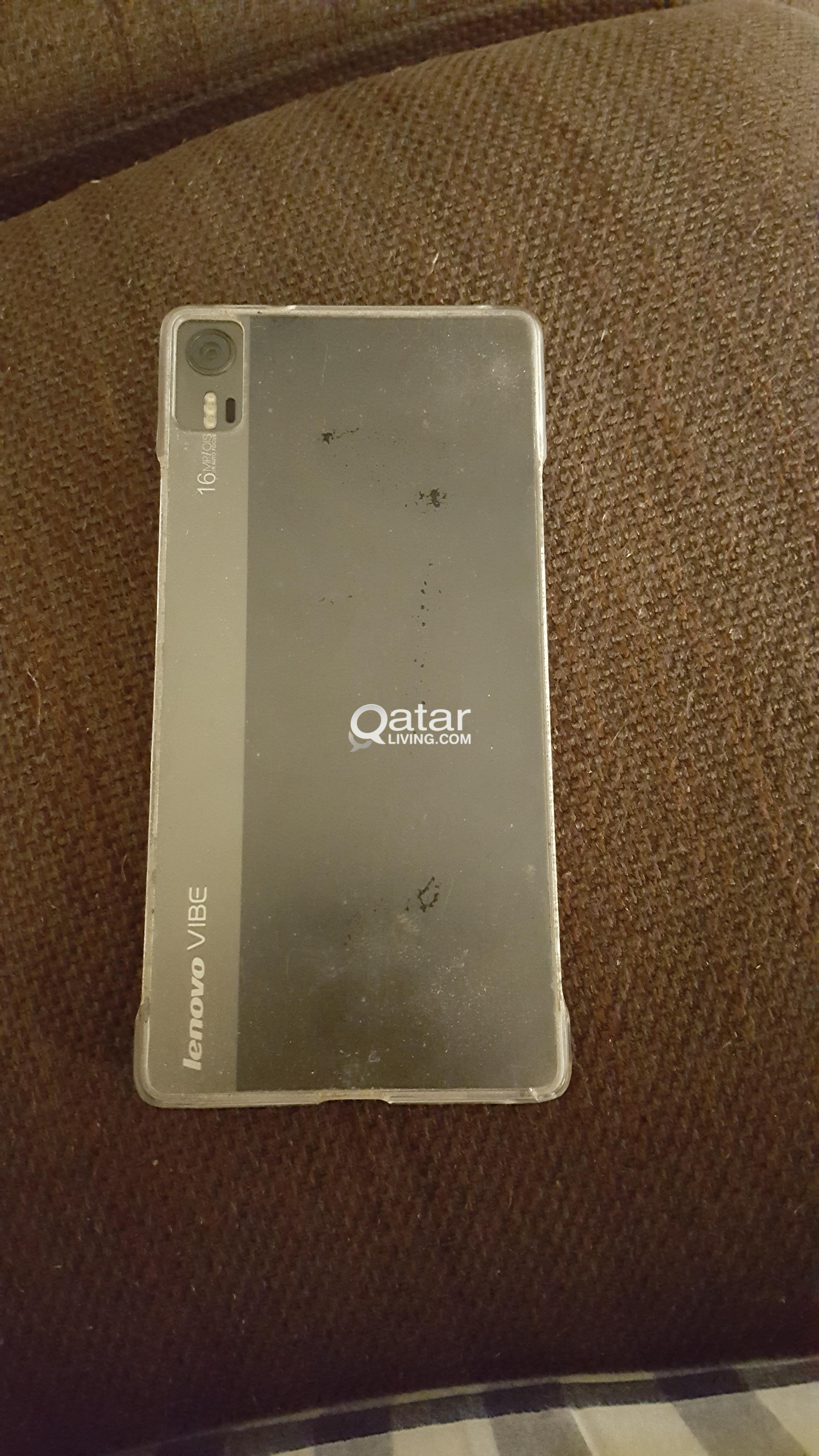 Lenovo Vibe Shot In Mint Condition With Box Accessories And Bill Grey Smartphone Title Information