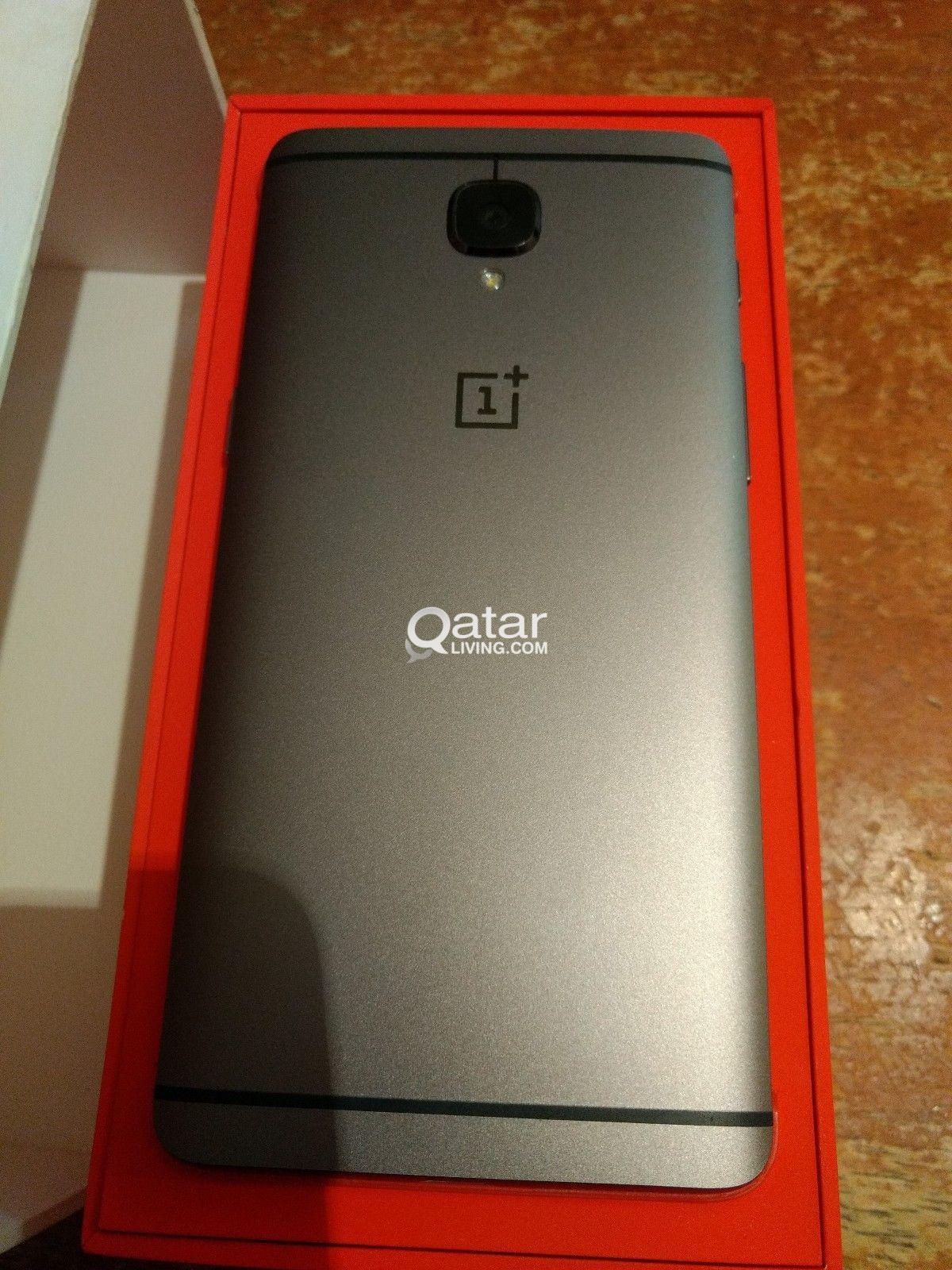 OnePlus 3T 64GB A3003 Dual-SIM Gunmetal Grey