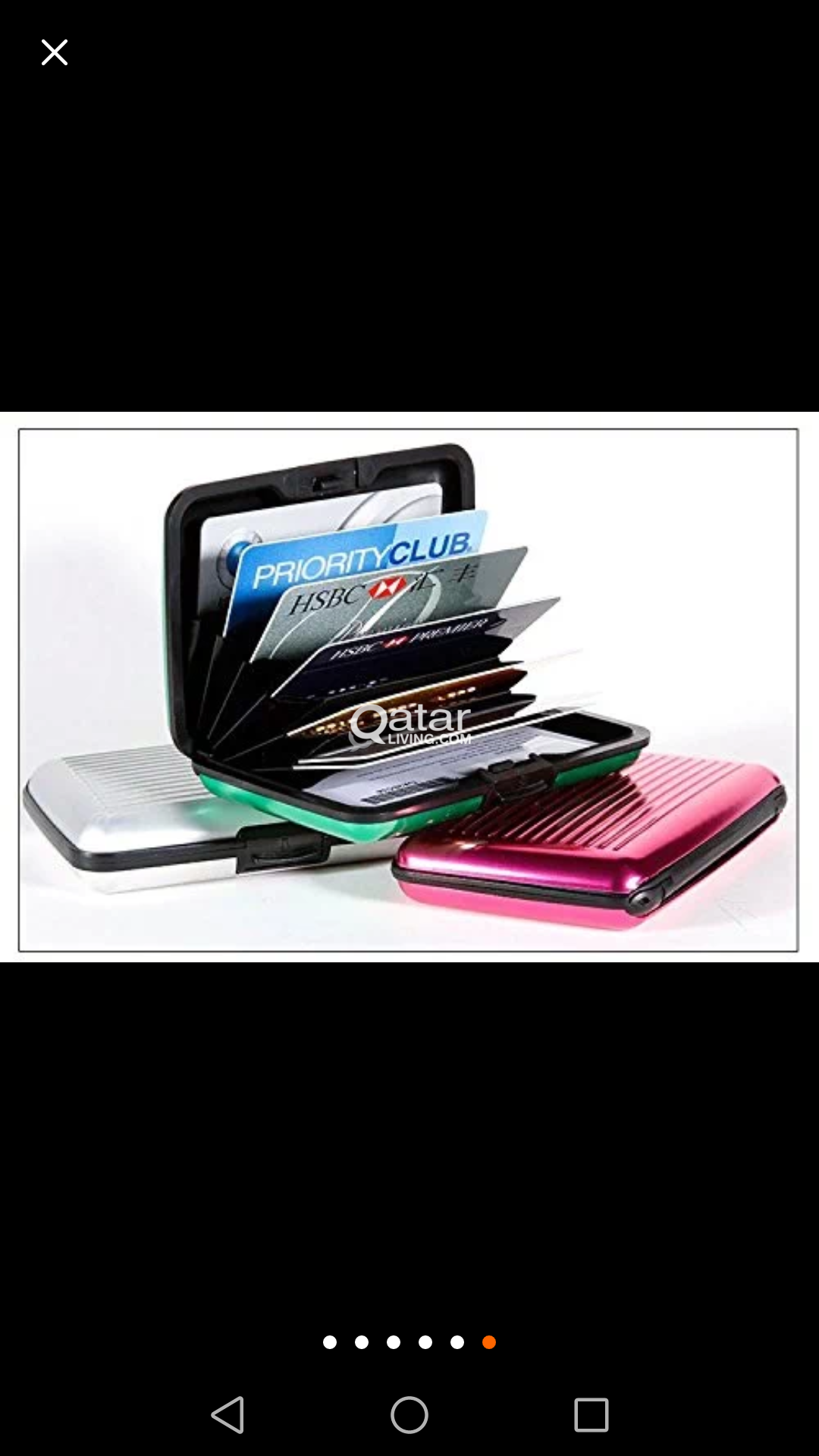 card holder  4 model normal 25 Qr automatic 75 Qr