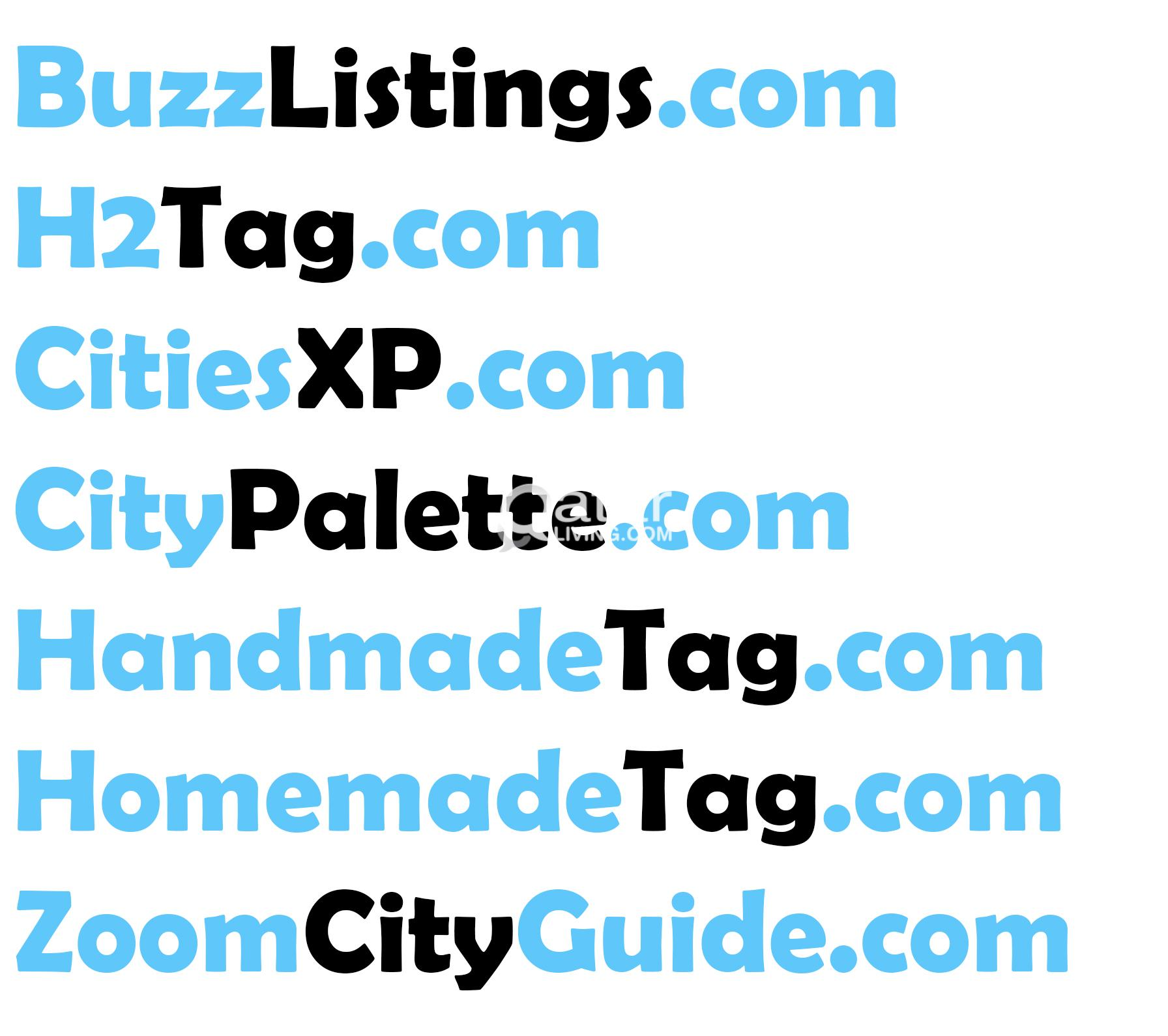 7 Premium Domain Names all are  COM
