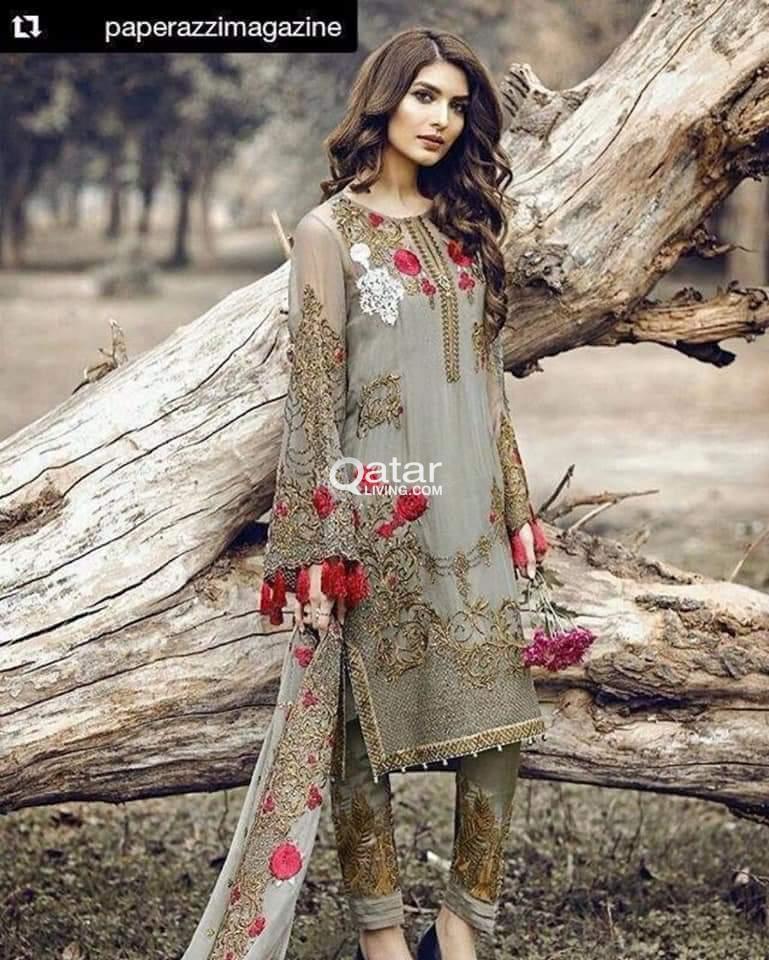 0499945916 Pakistani Designer Dress Master Copy Replica | Qatar Living