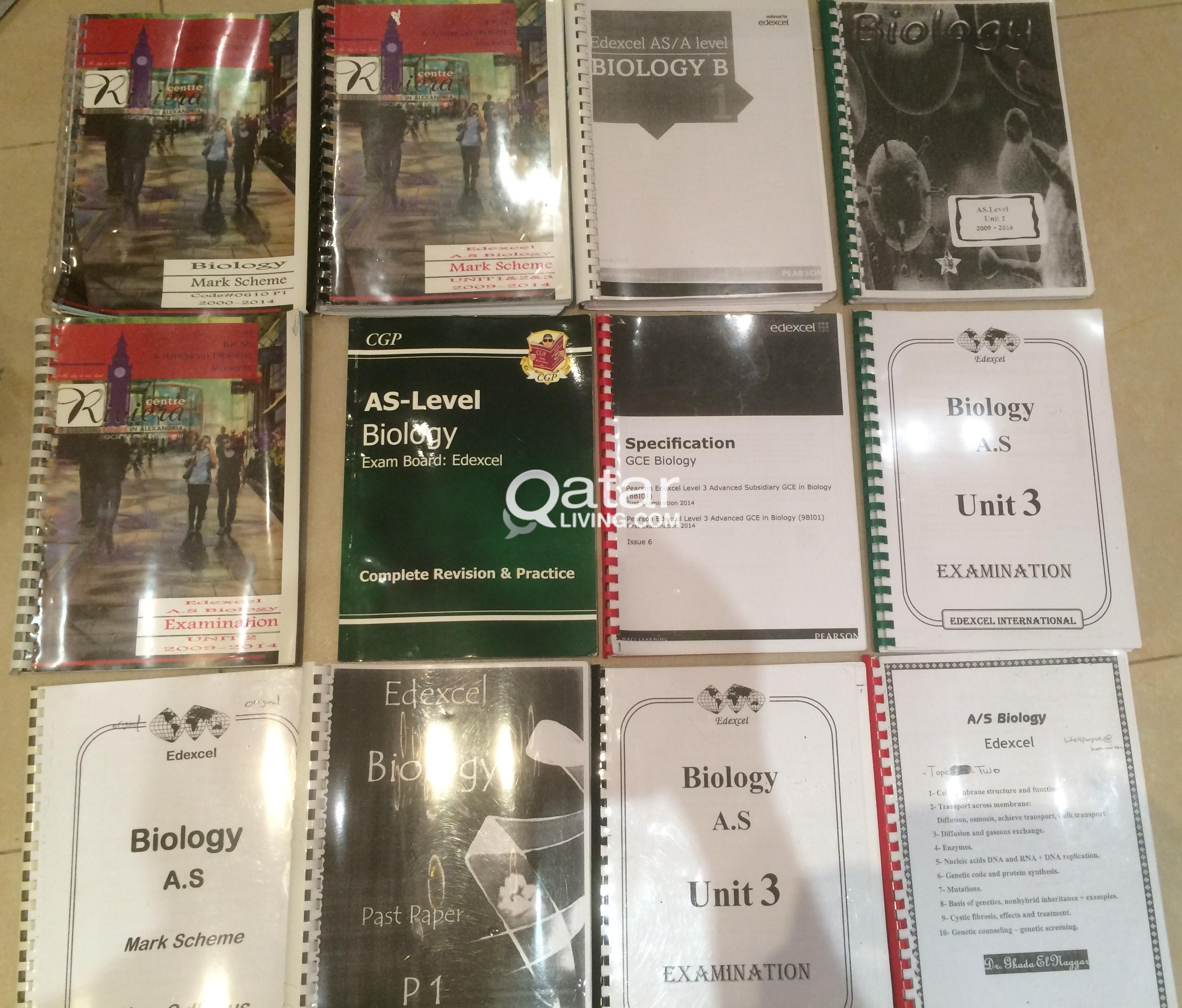 Educational/IGCSE books/Past papers for sale | Qatar Living