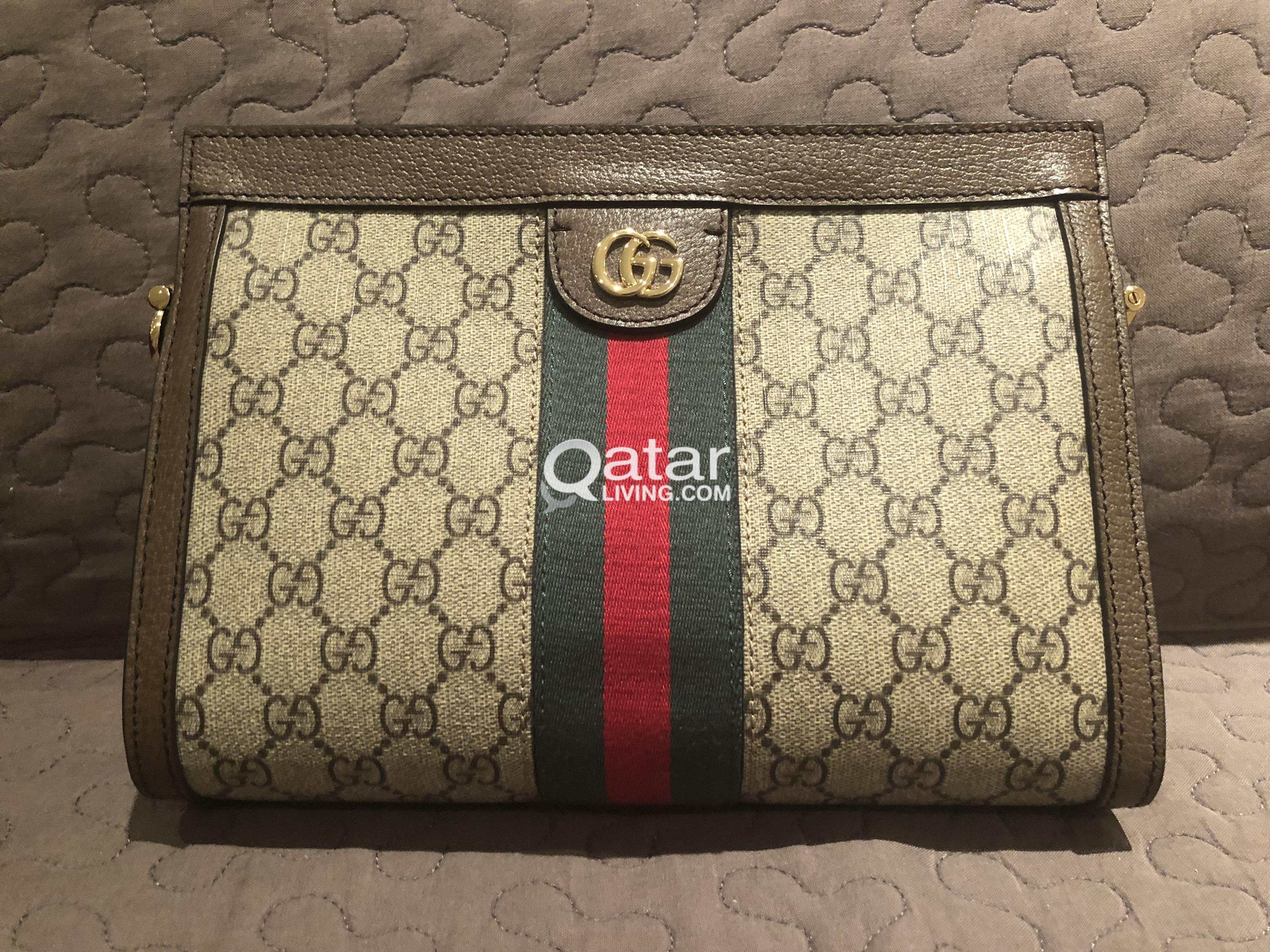 92fe47da1 Used Gucci - Ophidia GG small shoulder bag | Qatar Living