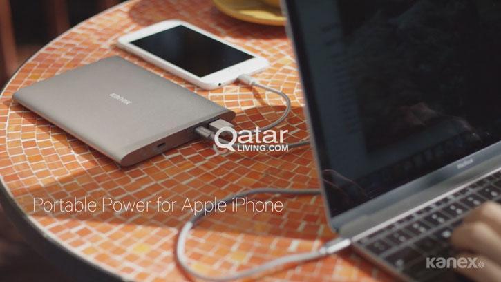 Kanex USB-C MacBook 15000mAh Power Bank brand