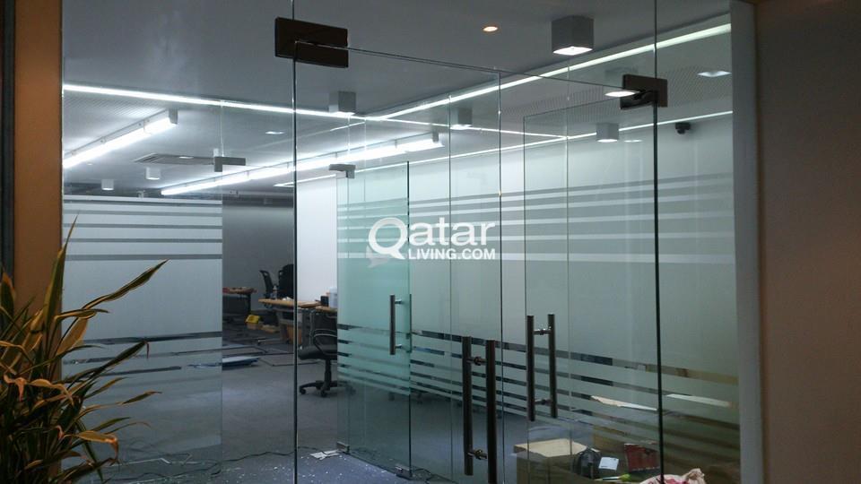 Glass Installation , Aluminum Fabrication & Painting | Qatar Living