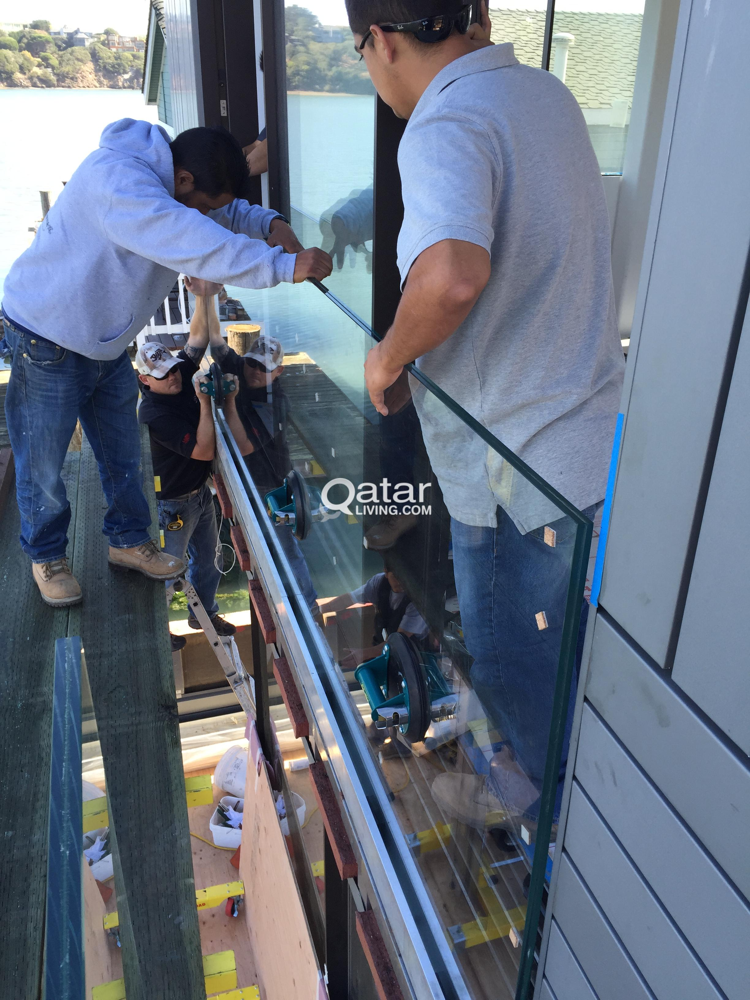 Glass Installation , Aluminum Fabrication & Painting | Qatar Living