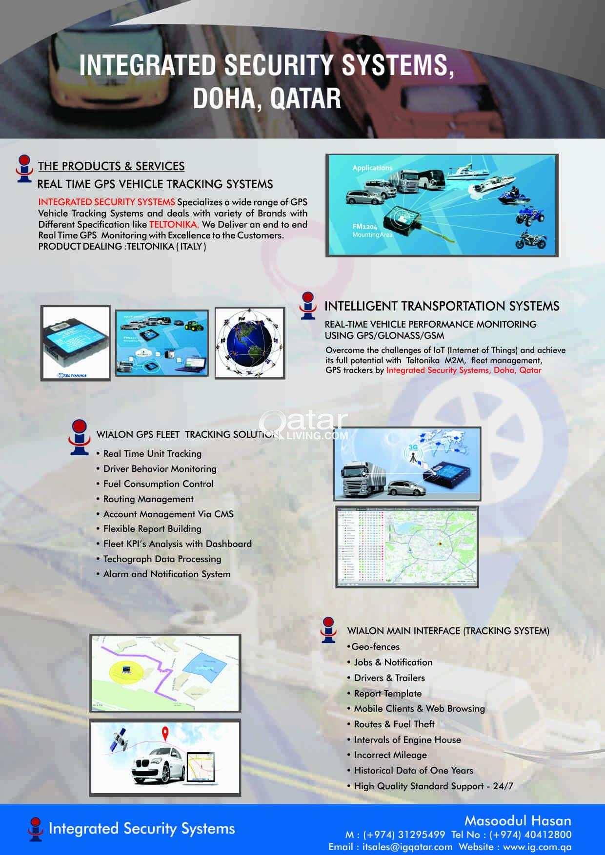 Vehicle Tracking Systems (GPS) | Qatar Living