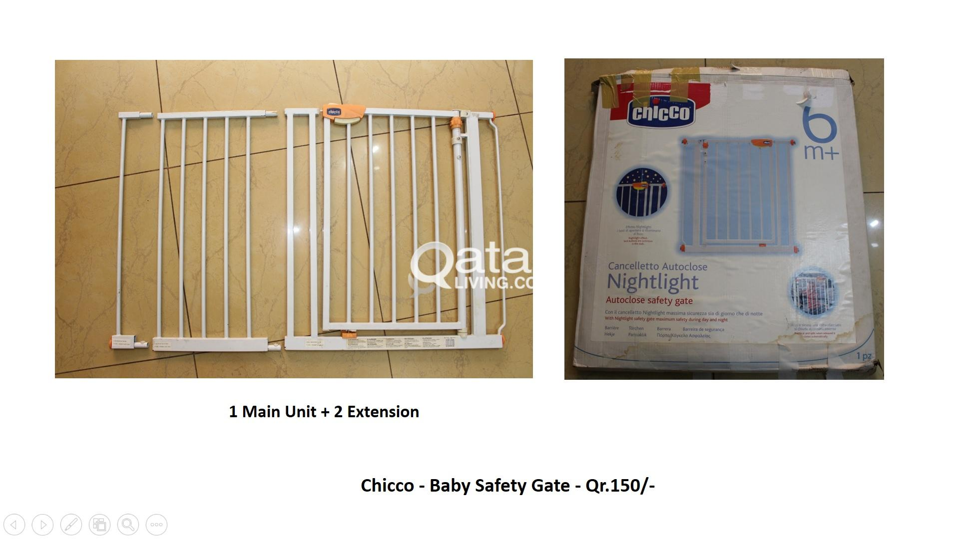 Cancelletto Chicco : Chicco baby safety gate qr 150 qatar living