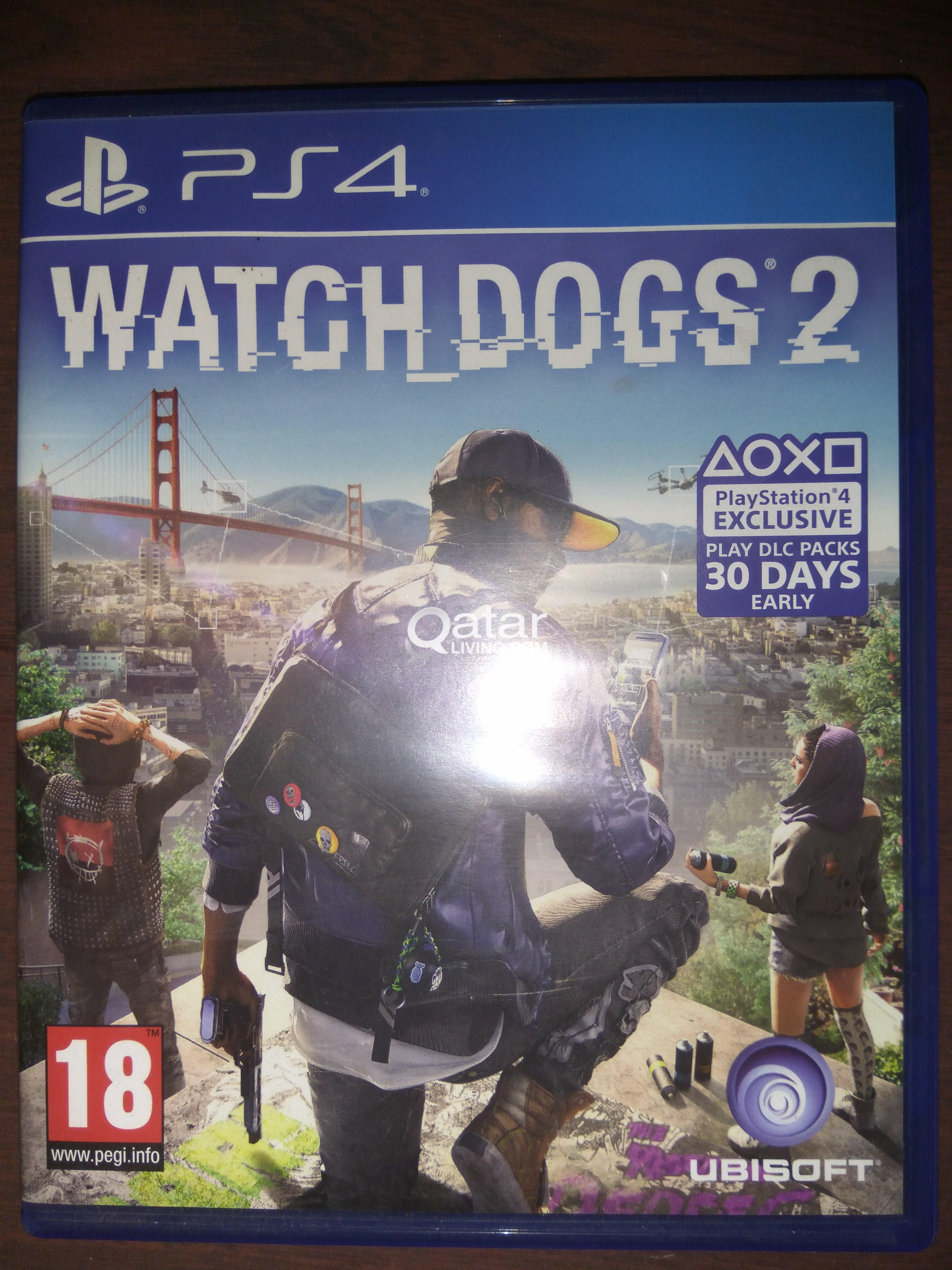 Watch Dogs 2 Ps4 Qatar Living Sony Game Title