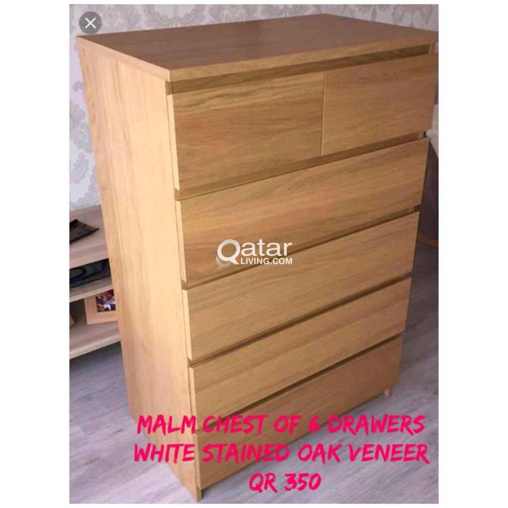 Title · Title · Title. Information. MALM Chest Of 6 Drawers ...