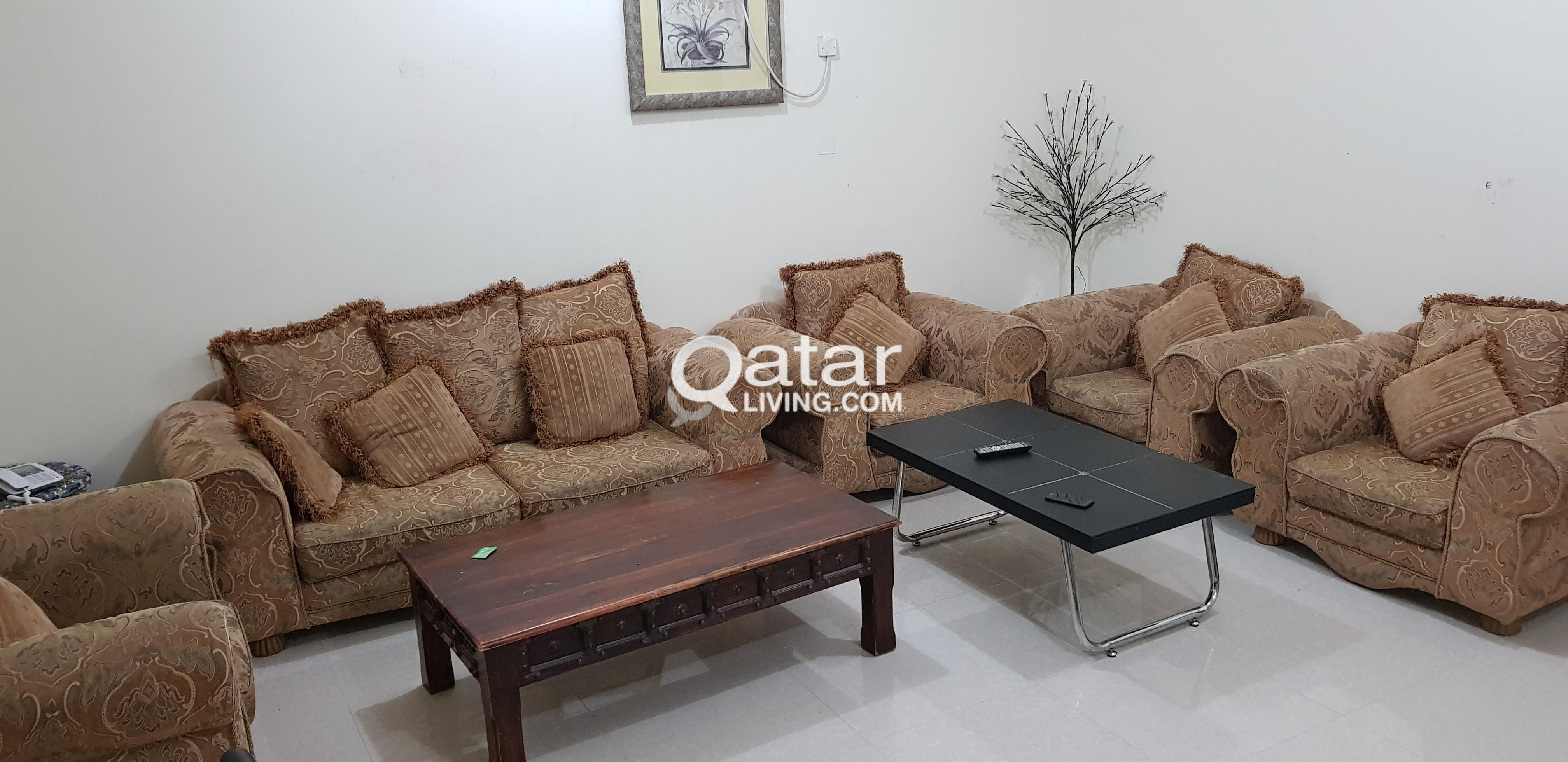 Stupendous 7 Seater Sofa Set For Sale Qatar Living Gmtry Best Dining Table And Chair Ideas Images Gmtryco