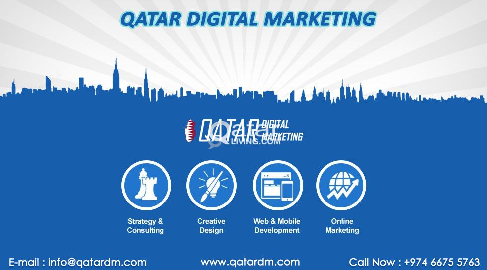 Digital Marketing & Website Designing Company In Qatar