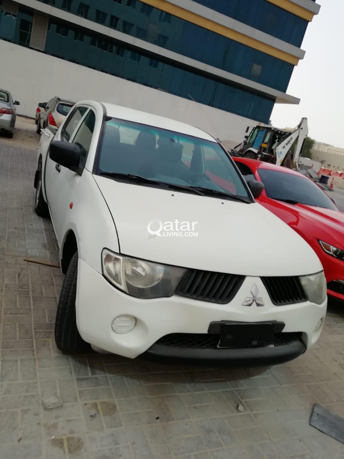 Mitsubishi Diesel Pick Up L200 2009 Good Condition Qatar Living Grill Bumper Mistubishi L300 New Title