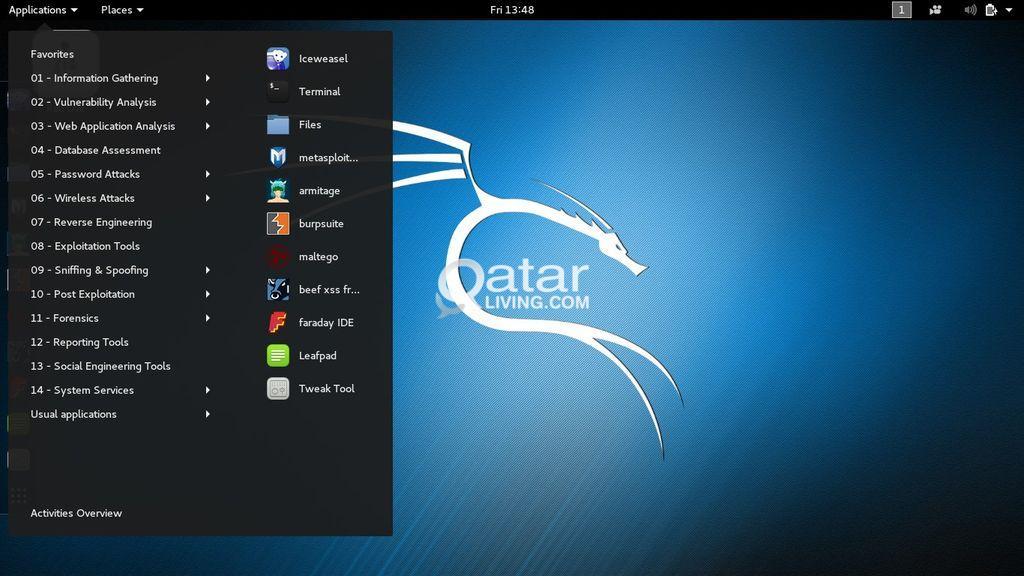 Linux Installation ( Kali Linux/ Parrot OS ) | Qatar Living